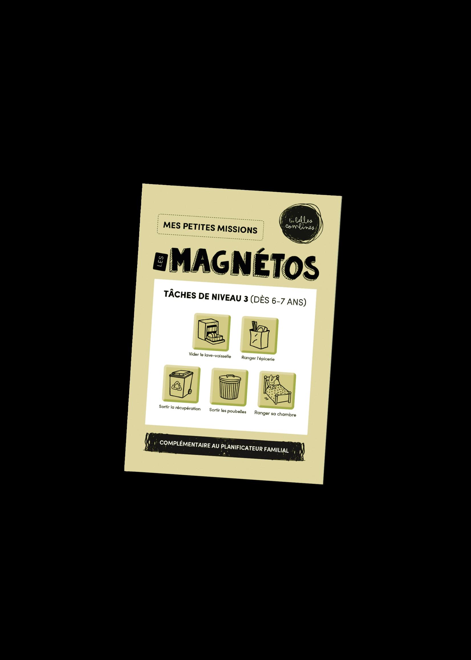Les belles combines Les magnétos mes petites missions -Niveau 3