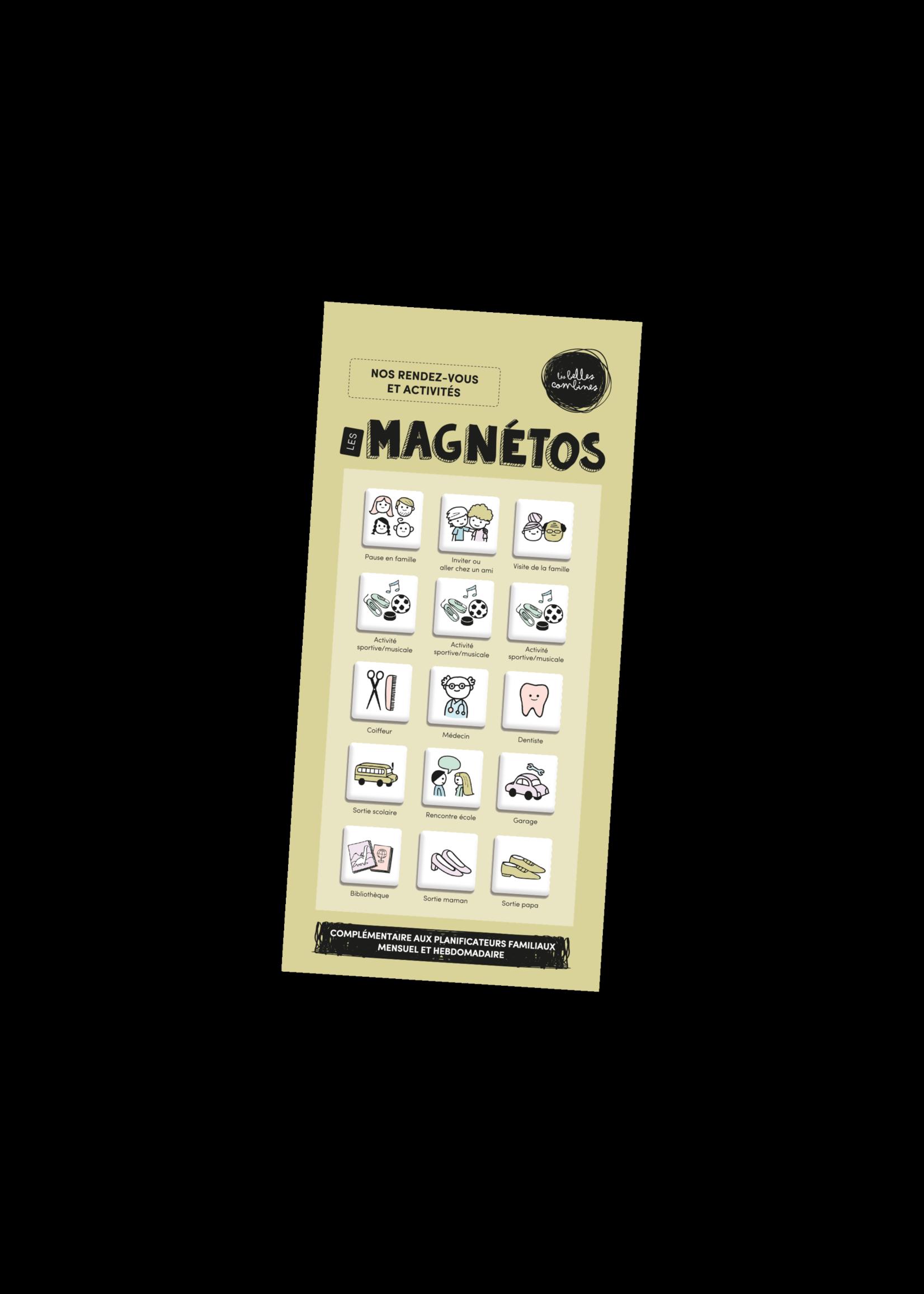 Les belles combines Les magnétos -Rendez-vous et activités