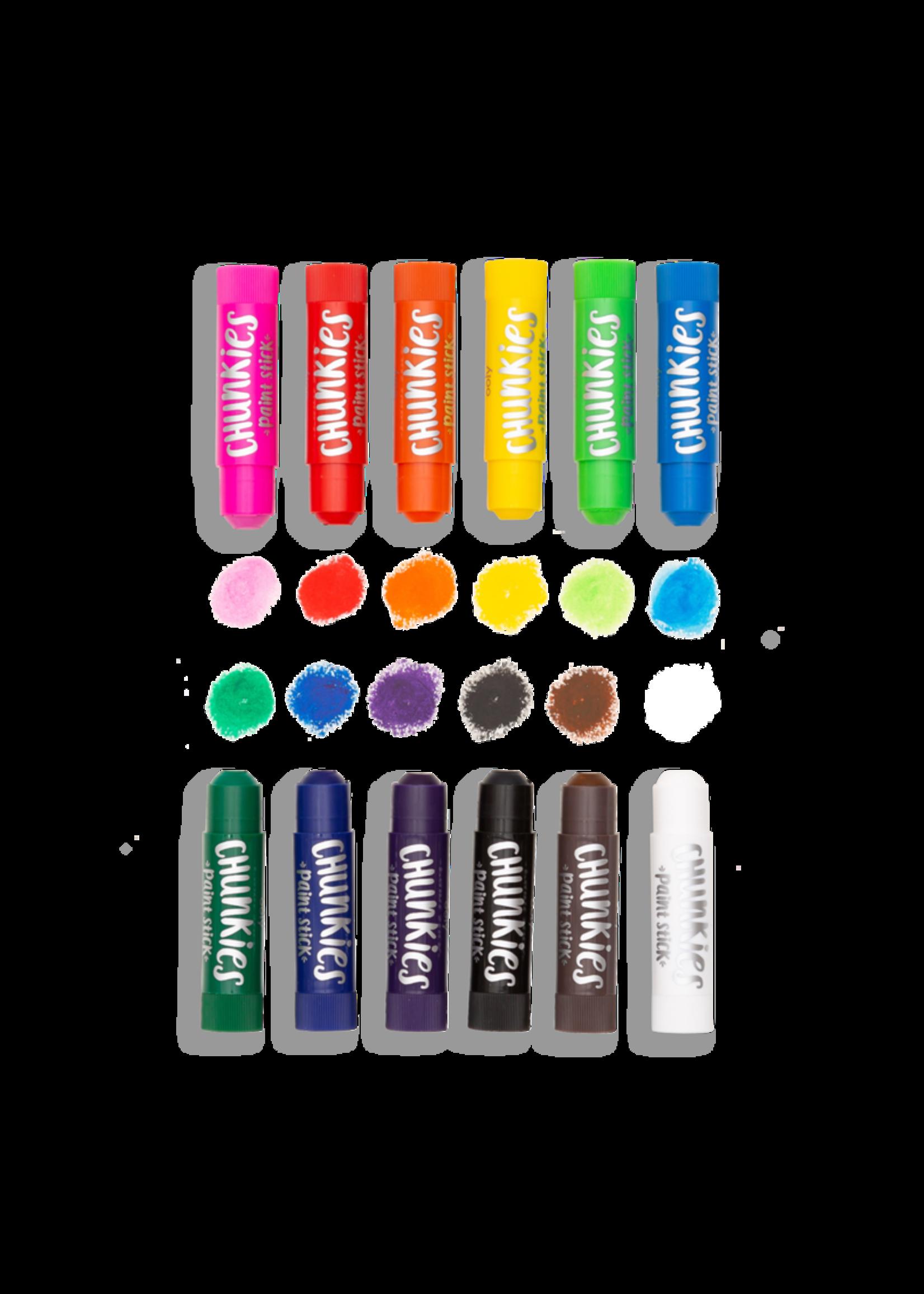 Ooly Crayon peinture Chunky paint sticks -Ensemble de 12