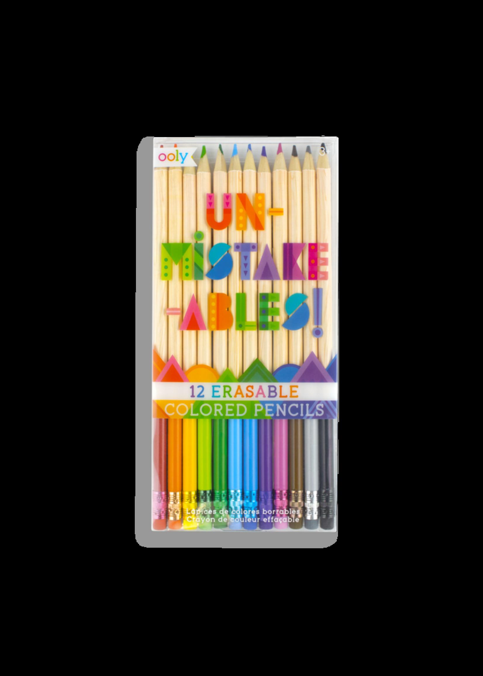 Ooly Crayon de couleur effaçable