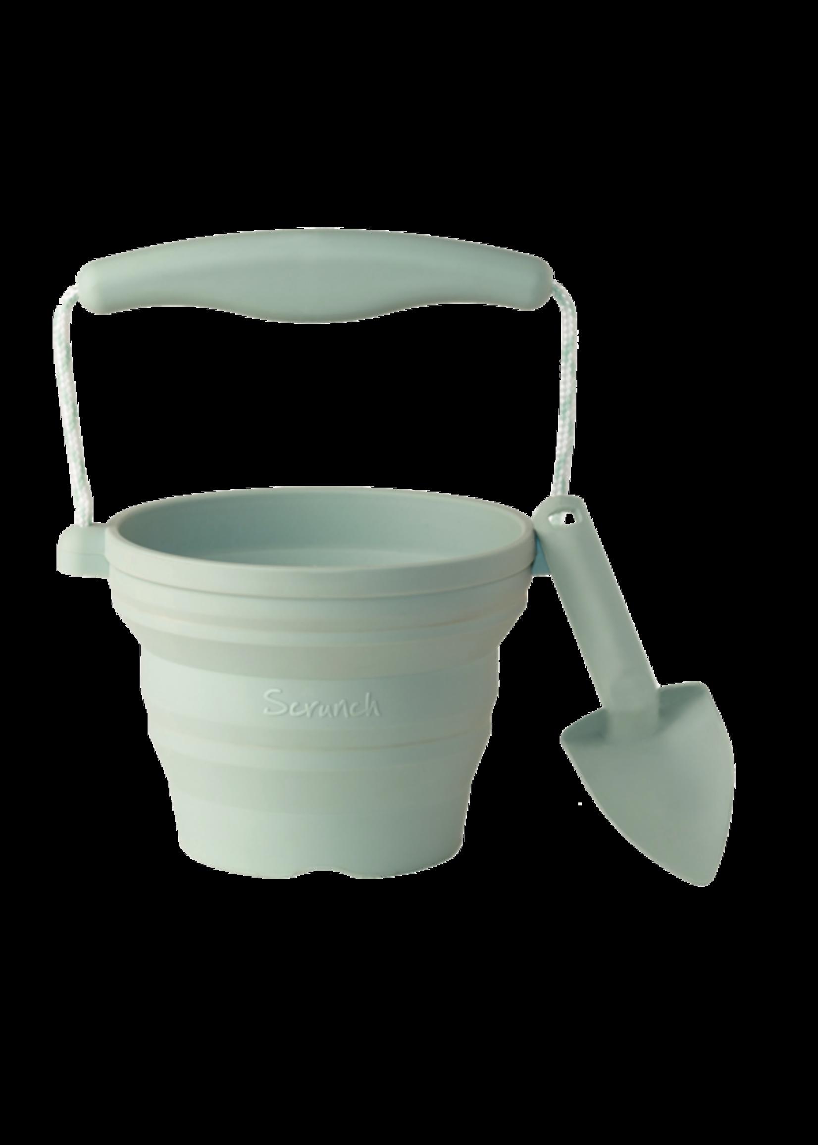 Scrunch Petit pot et pelle  rétractable en silicone