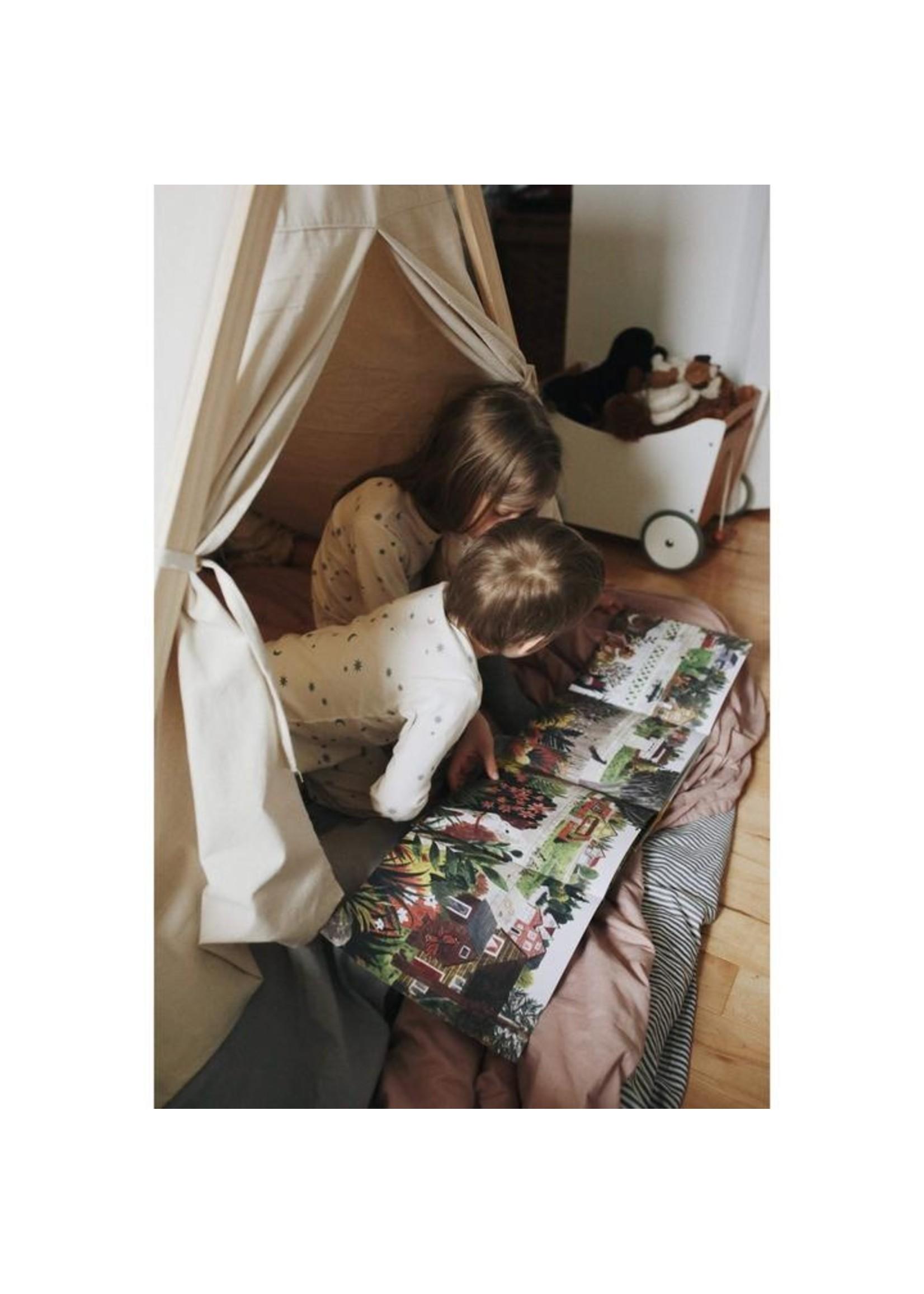 Kinderfeets Tente d'intérieur et d'extérieur