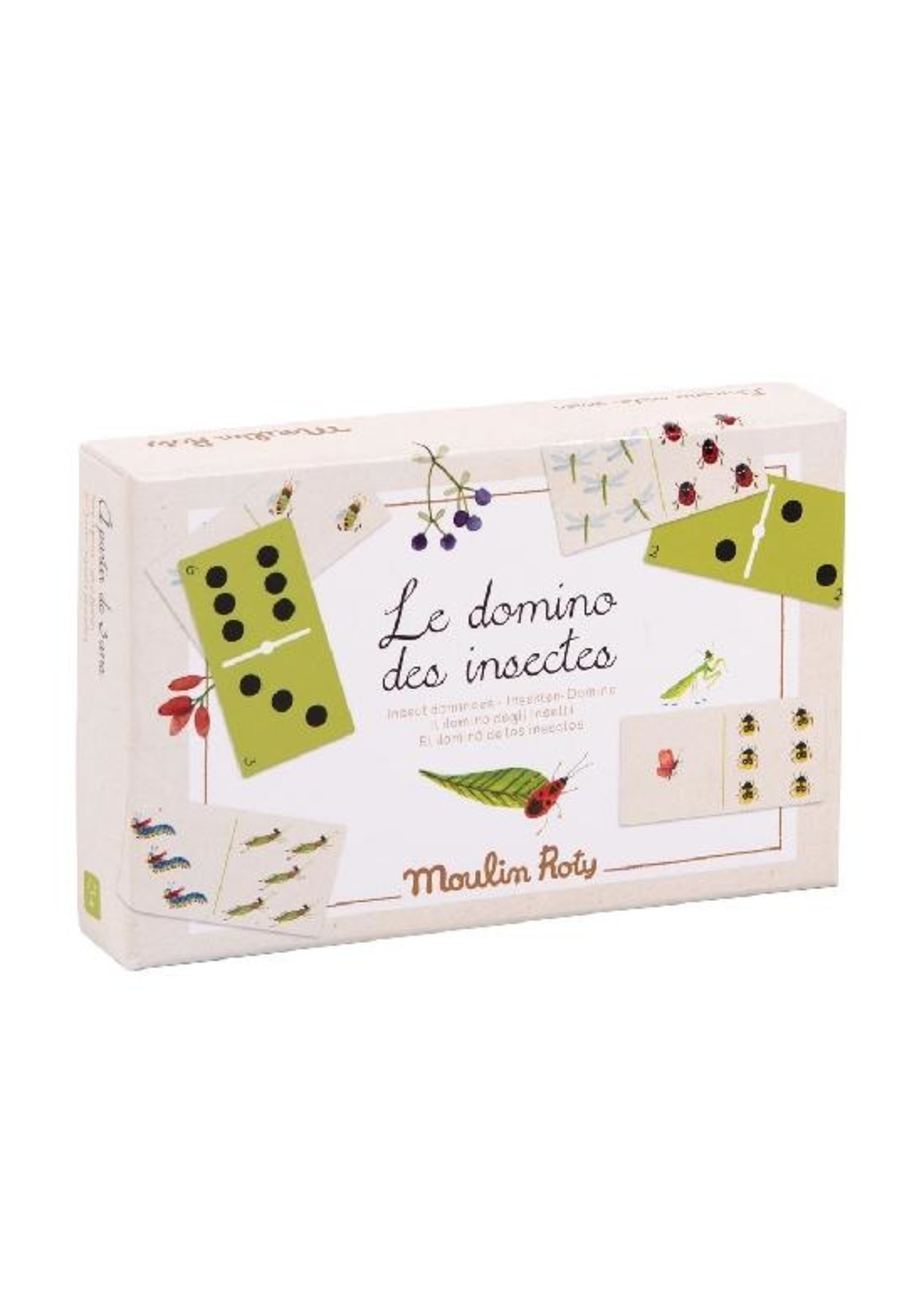 Moulin Roty Le domino des insectes