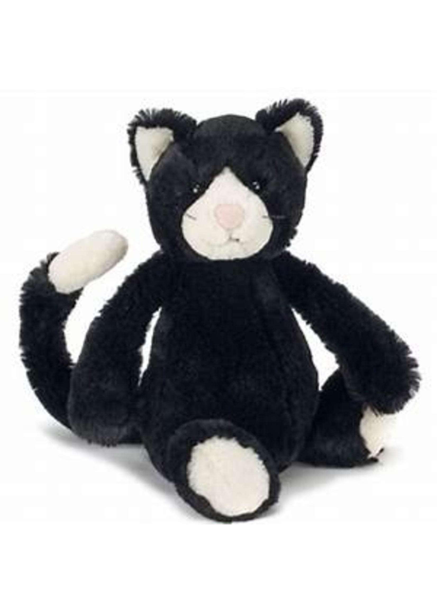 Jellycat Peluche Chat Noir et Blanc