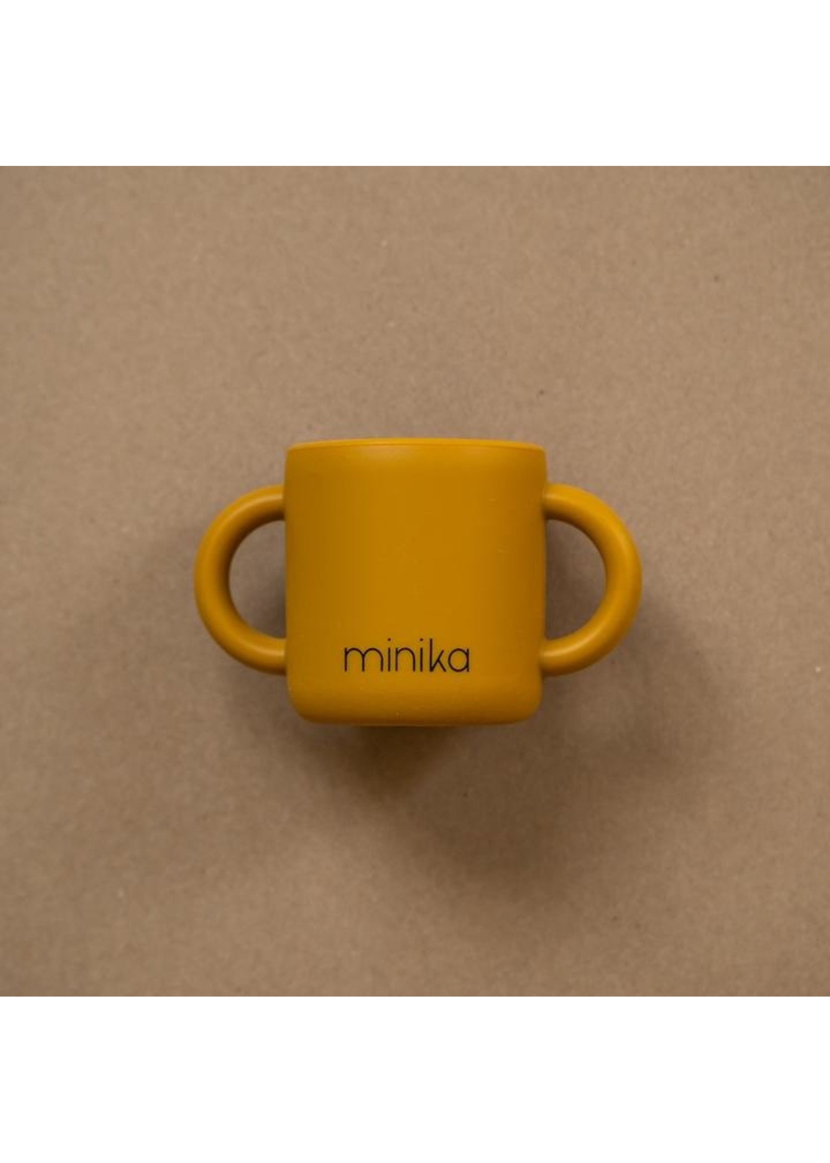 Minika Tasse d'apprentissage Ocre