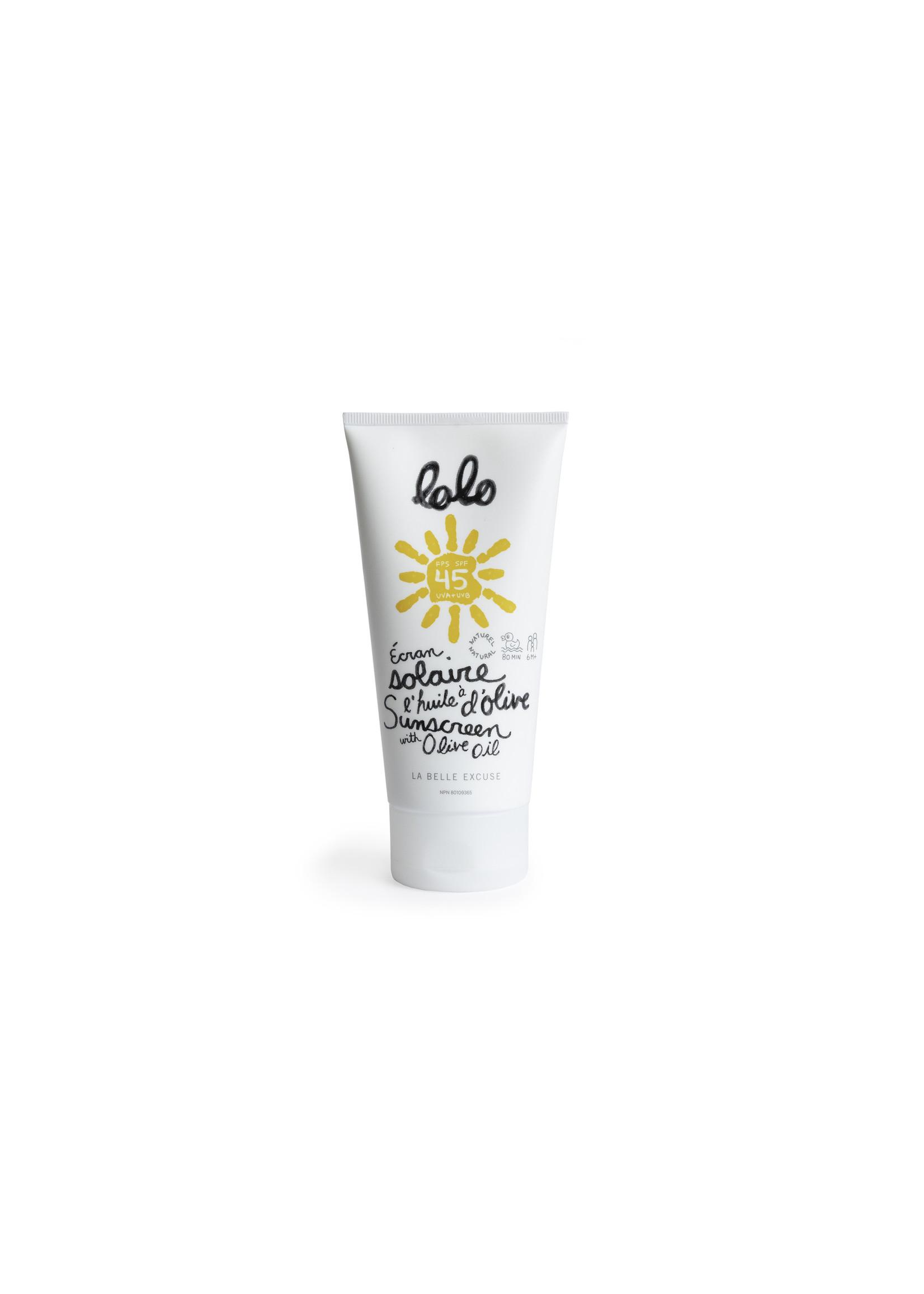 LOLO Écran solaire parfumé 150g