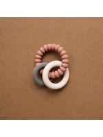 Minika Hochet silicone Sorbet/Stone