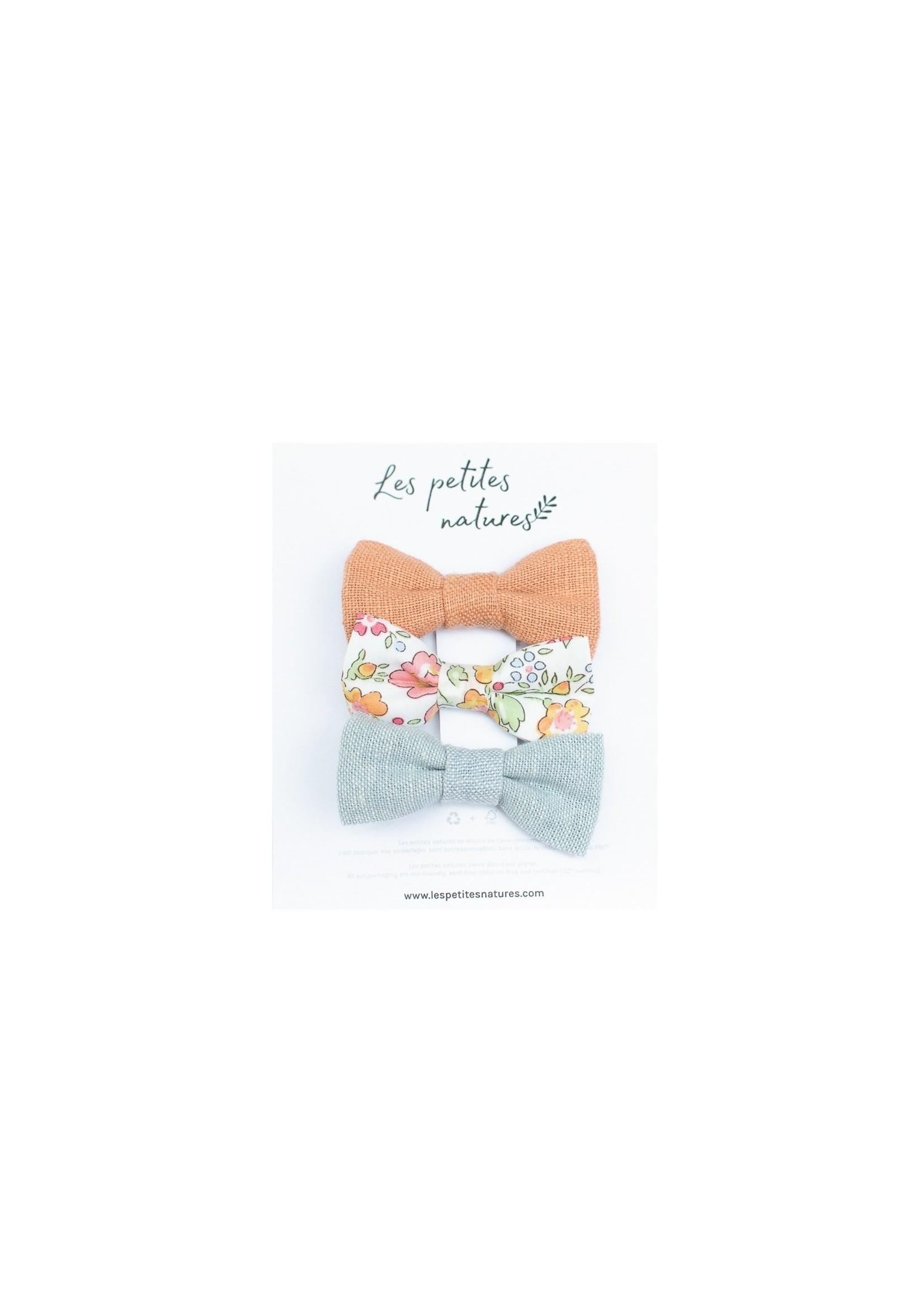 Les petites natures Trio - Petites boucles Abricot