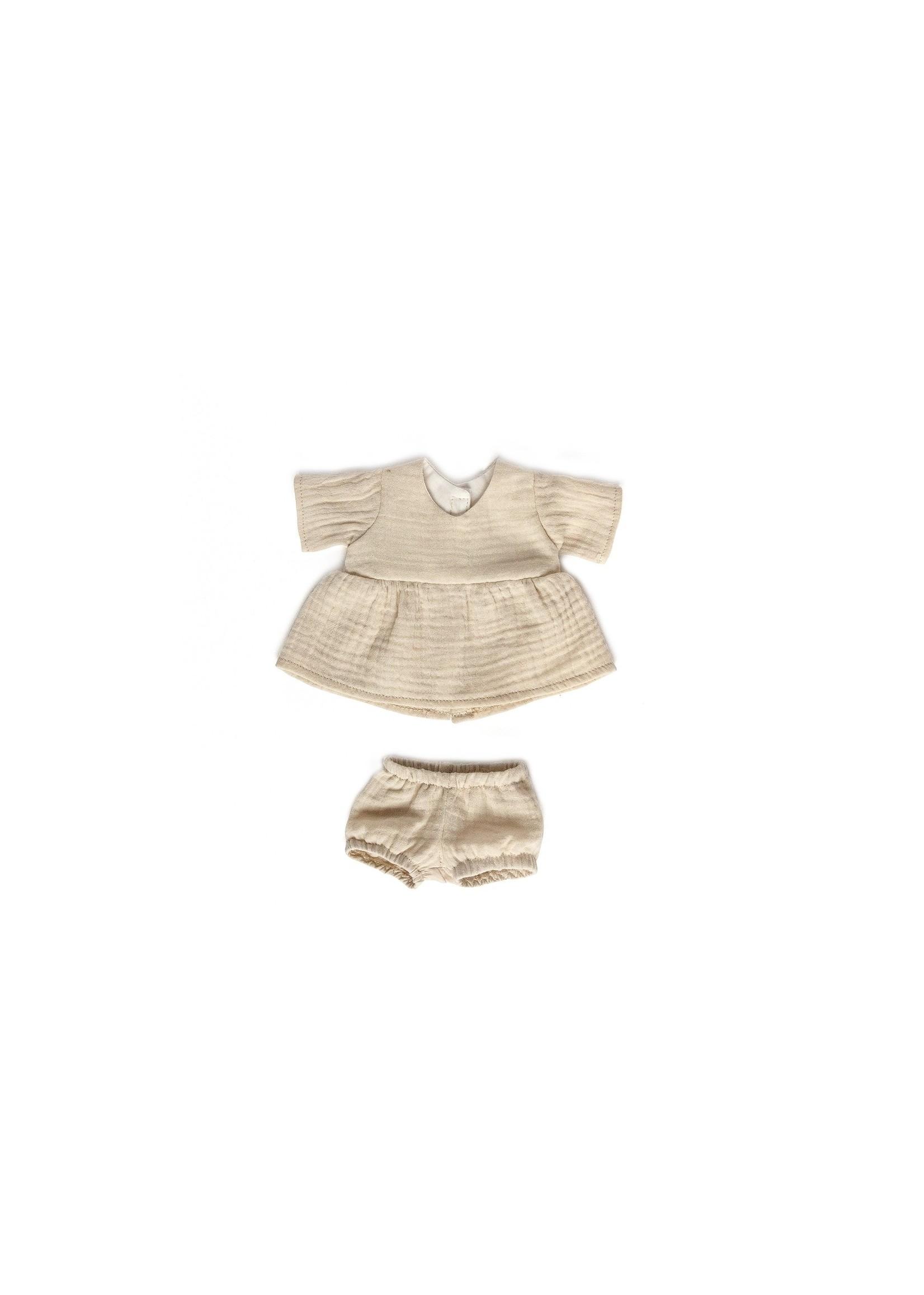 Les petites natures Vêtement pour poupée Oat