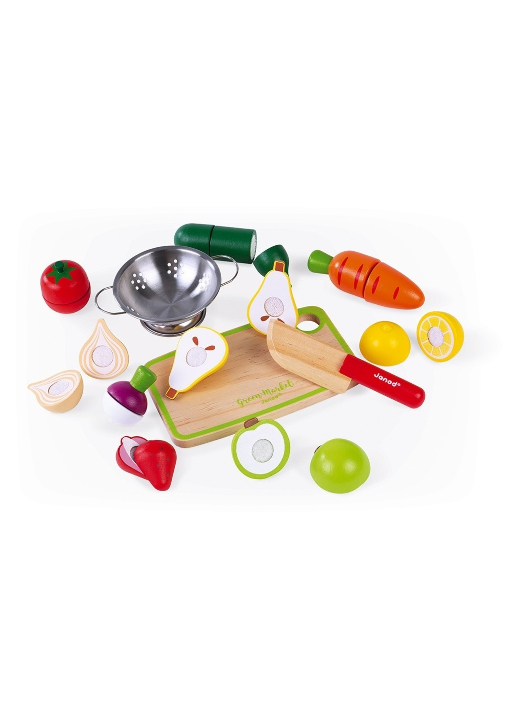 Janod Fruits et légumes Maxi set