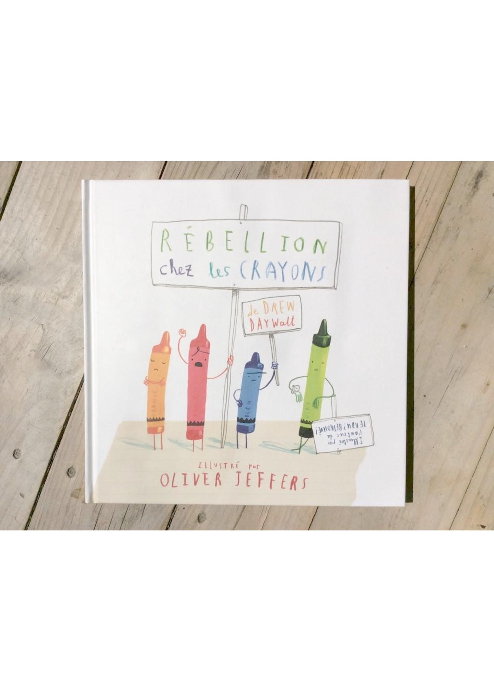 Kaléidoscope Rébellion chez les crayons