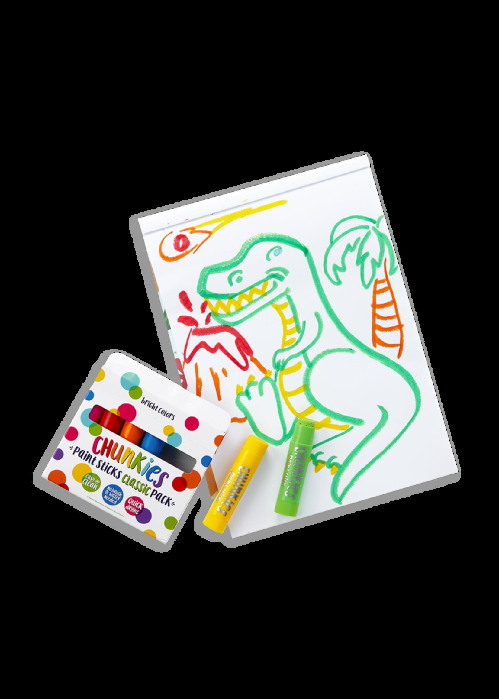 Ooly Crayon de peinture Chunkies Classic
