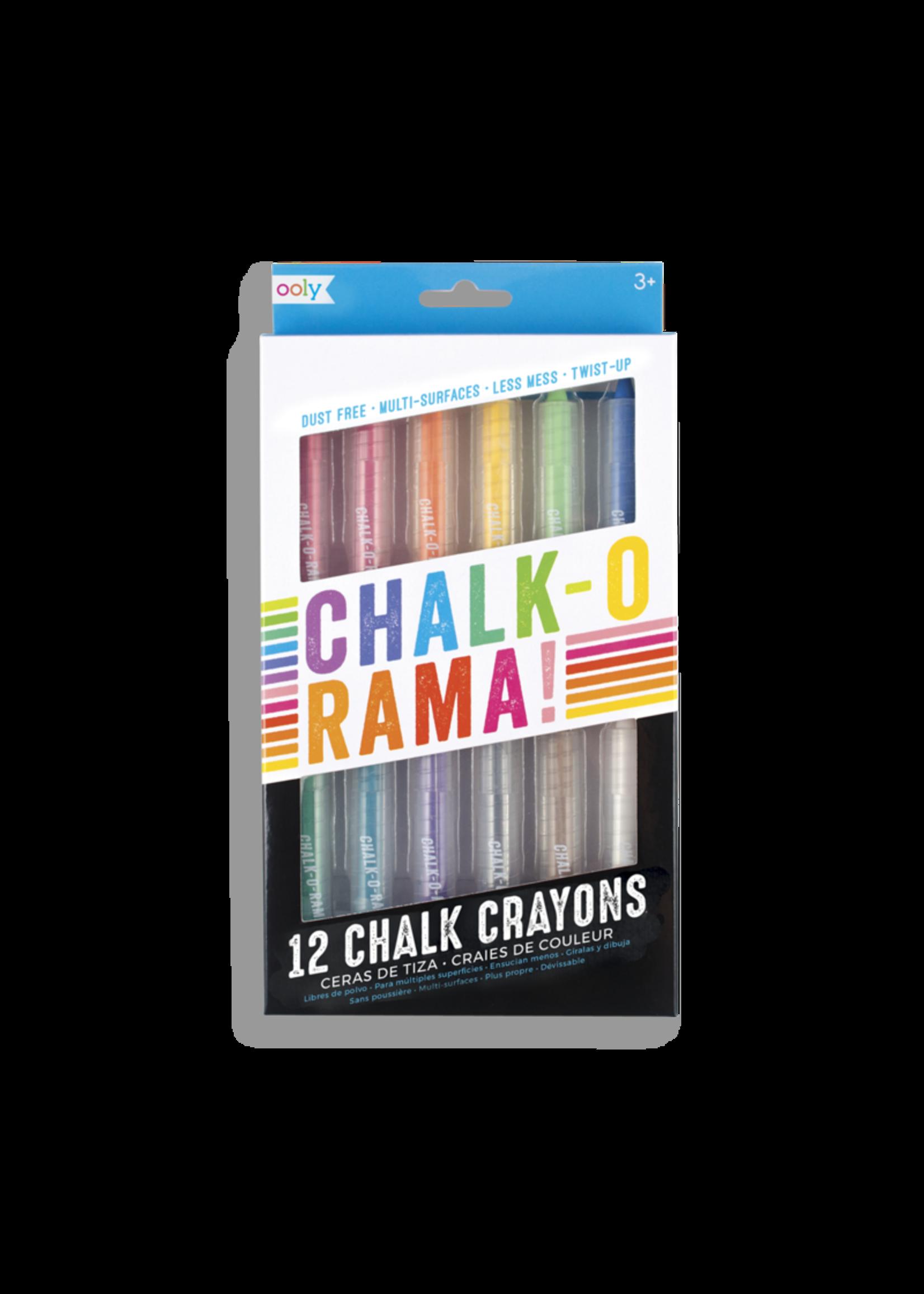 Ooly Crayons Craie Chalk-O-Rama