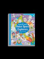 Ooly Livre à colorier Outer Space Explorers