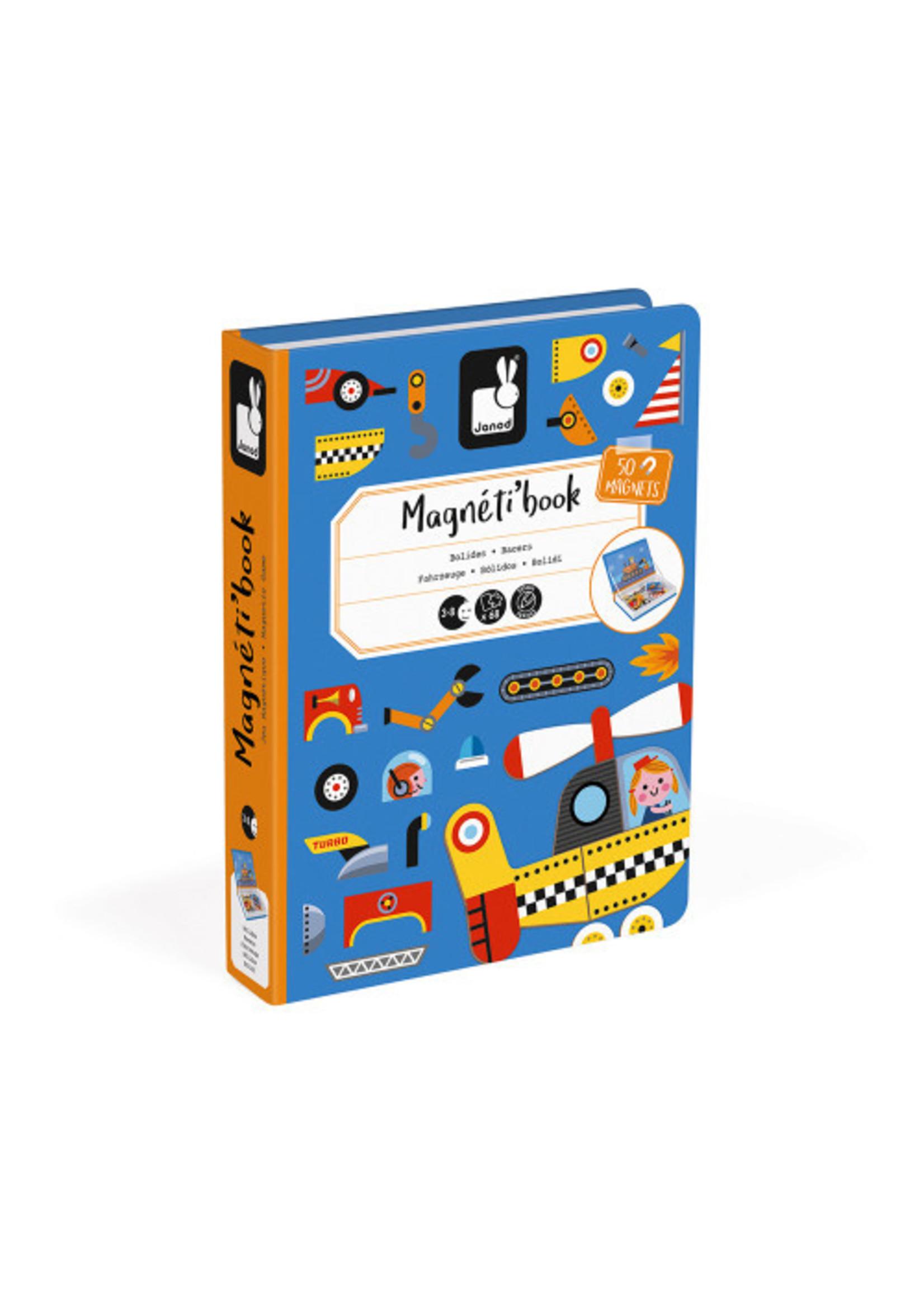 Janod Magnéti'book - Bolides