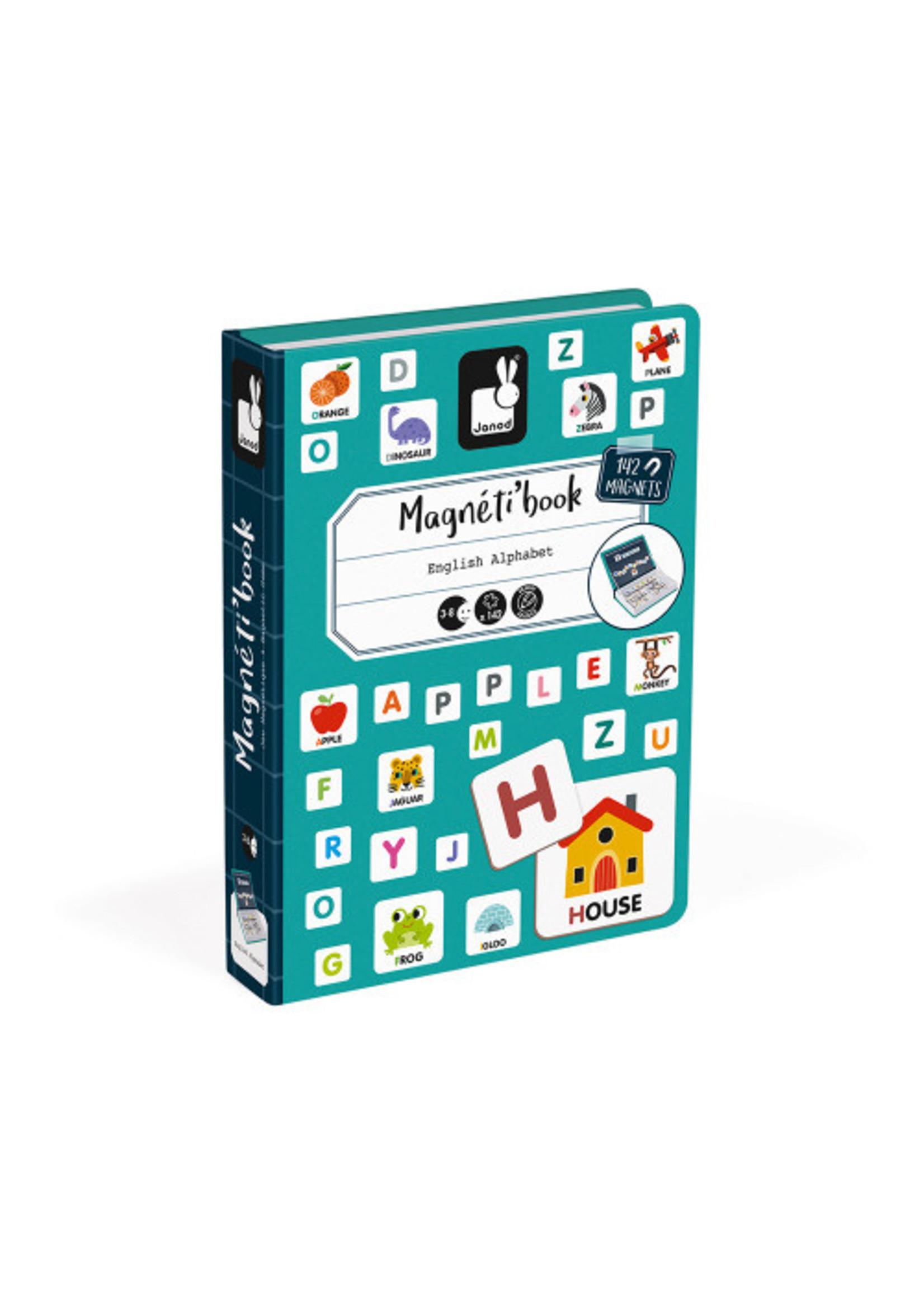 Janod Magnéti'book - Alphabet Anglais