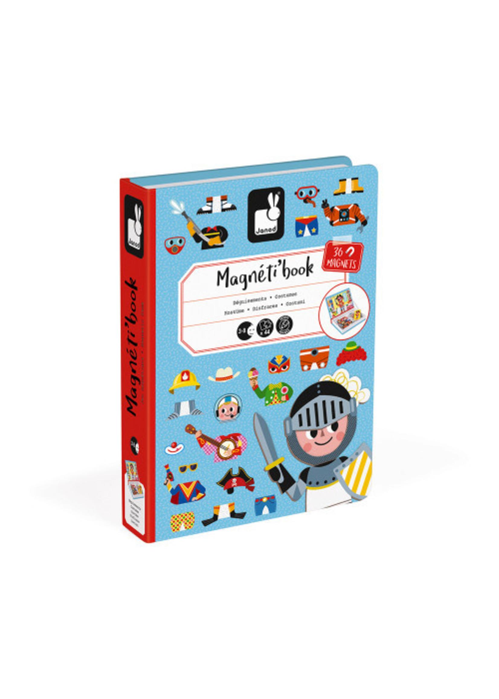 Janod Magnéti'book - Déguisements Garçons