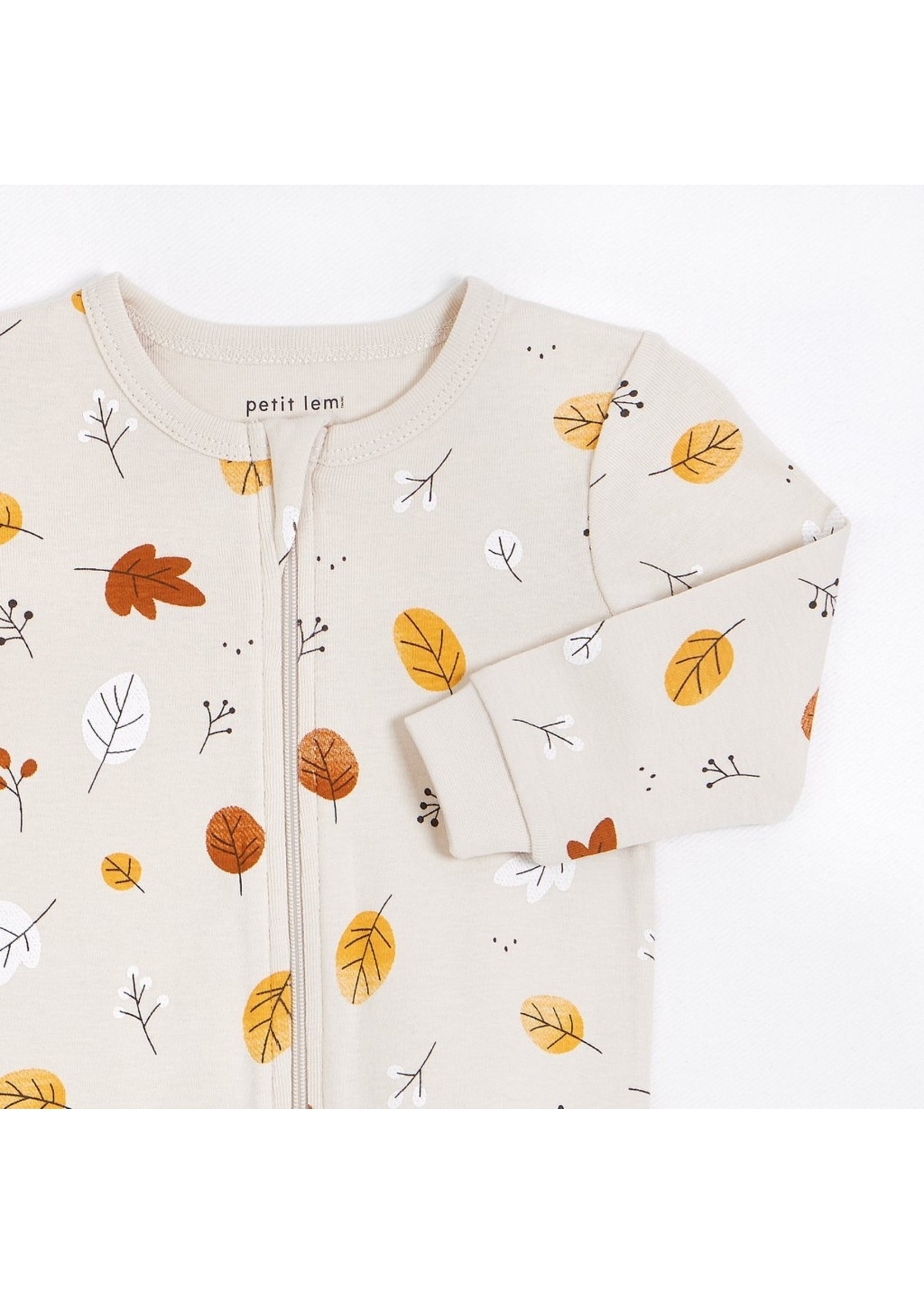 Petit Lem Pyjama 1 pièce Feuillage