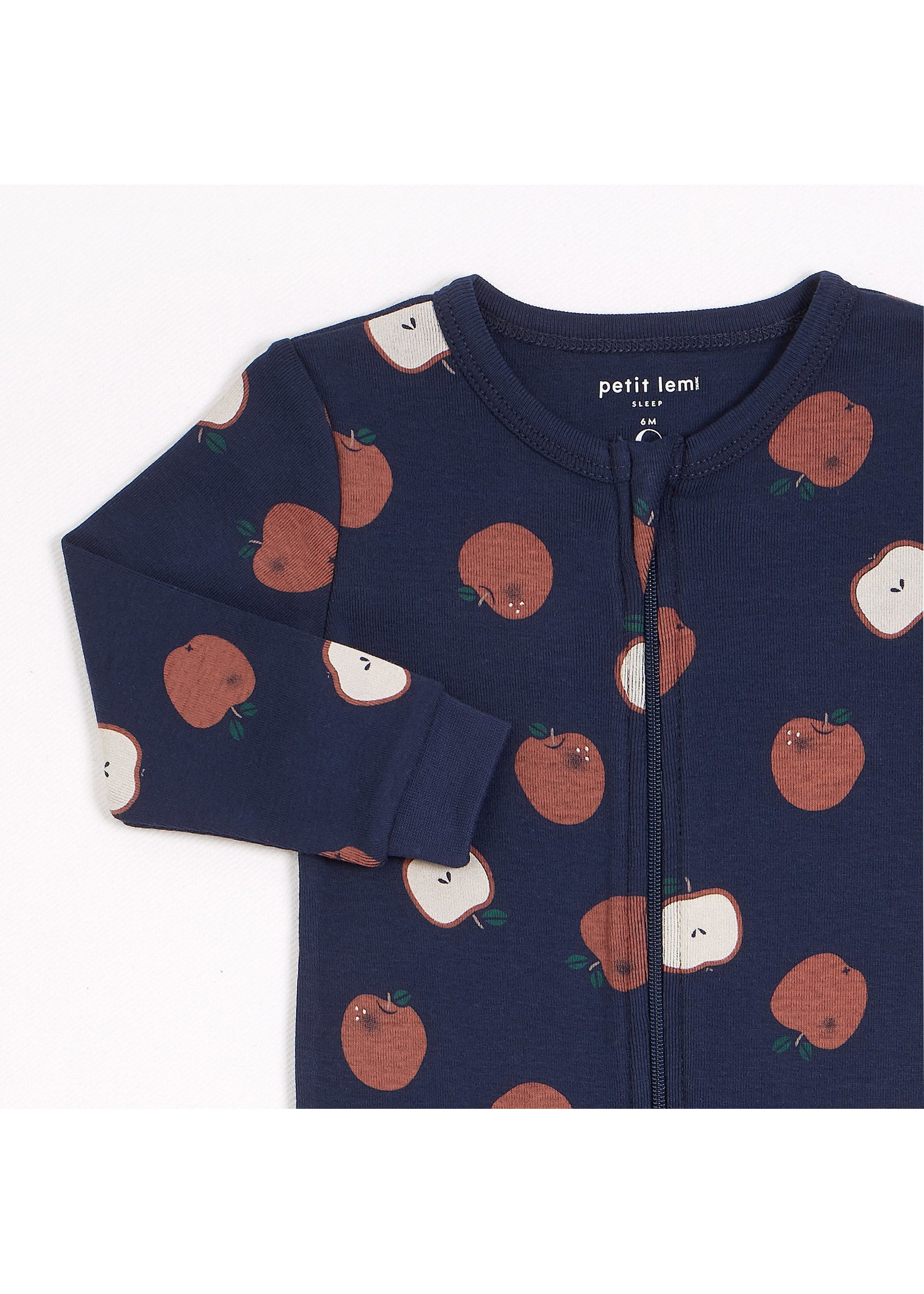 Petit Lem Pyjama 1 pièce Pommes