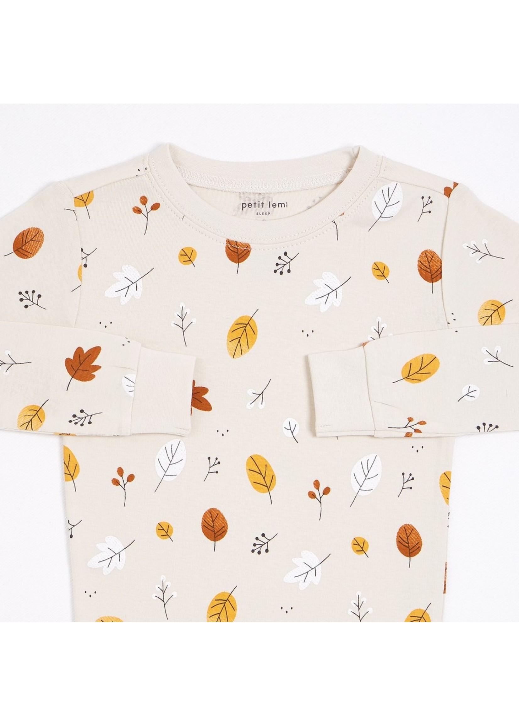 Petit Lem Pyjama 2 pièces Feuillage