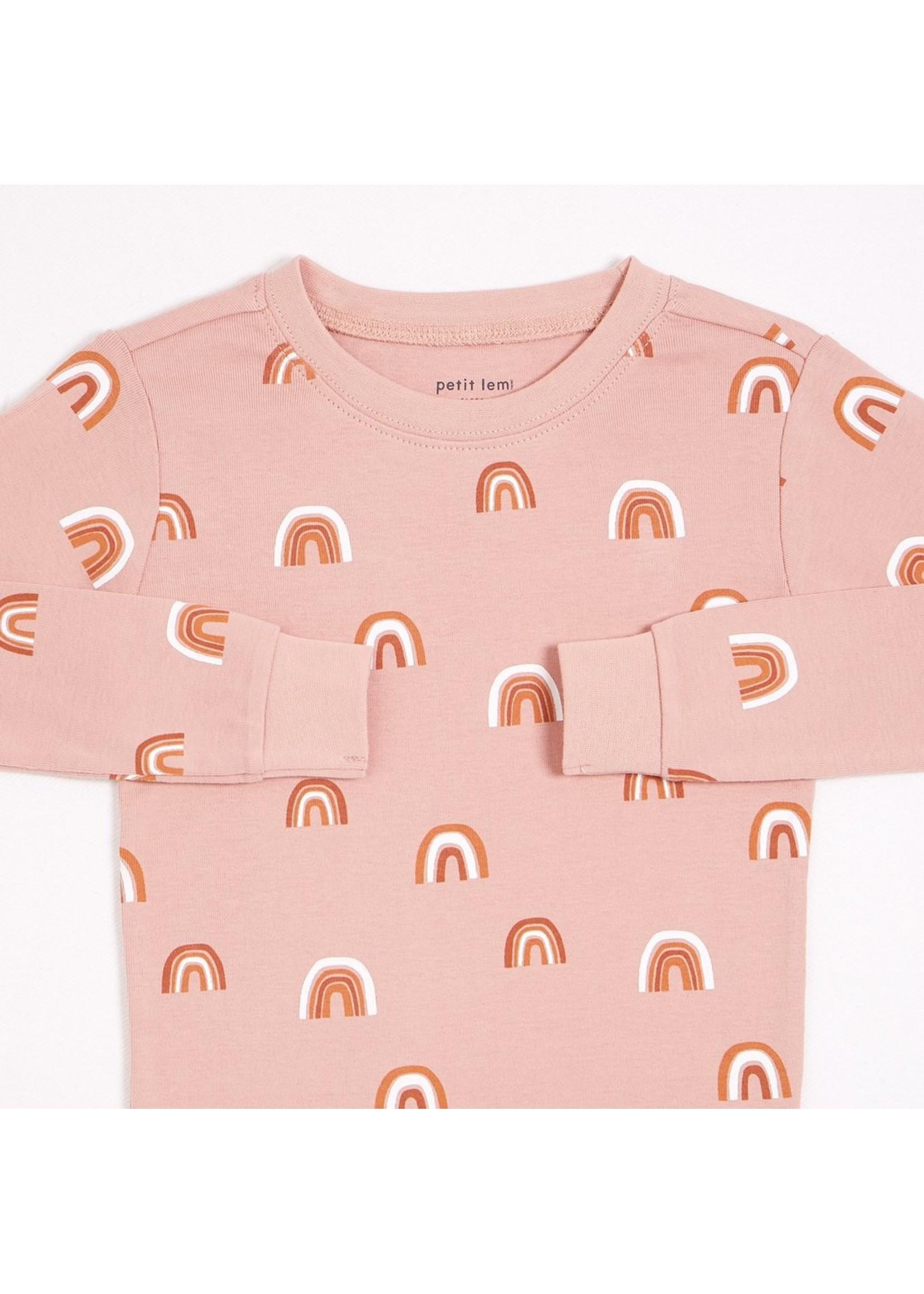 Petit Lem Pyjama 2 pièces Arc-en-Ciel