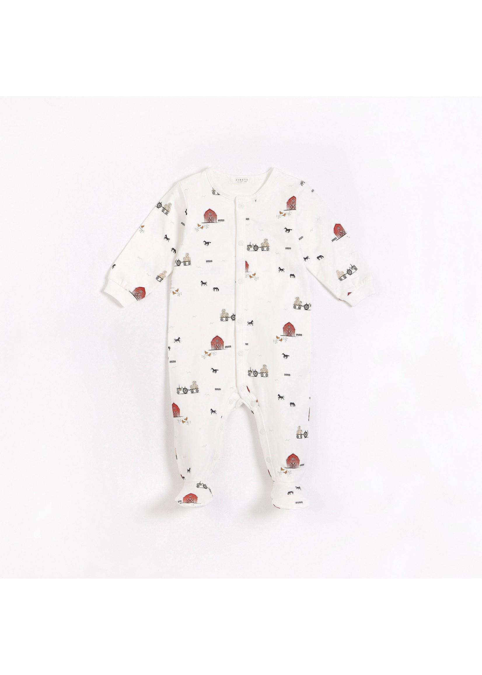 Petit Lem Pyjama une piece Grange