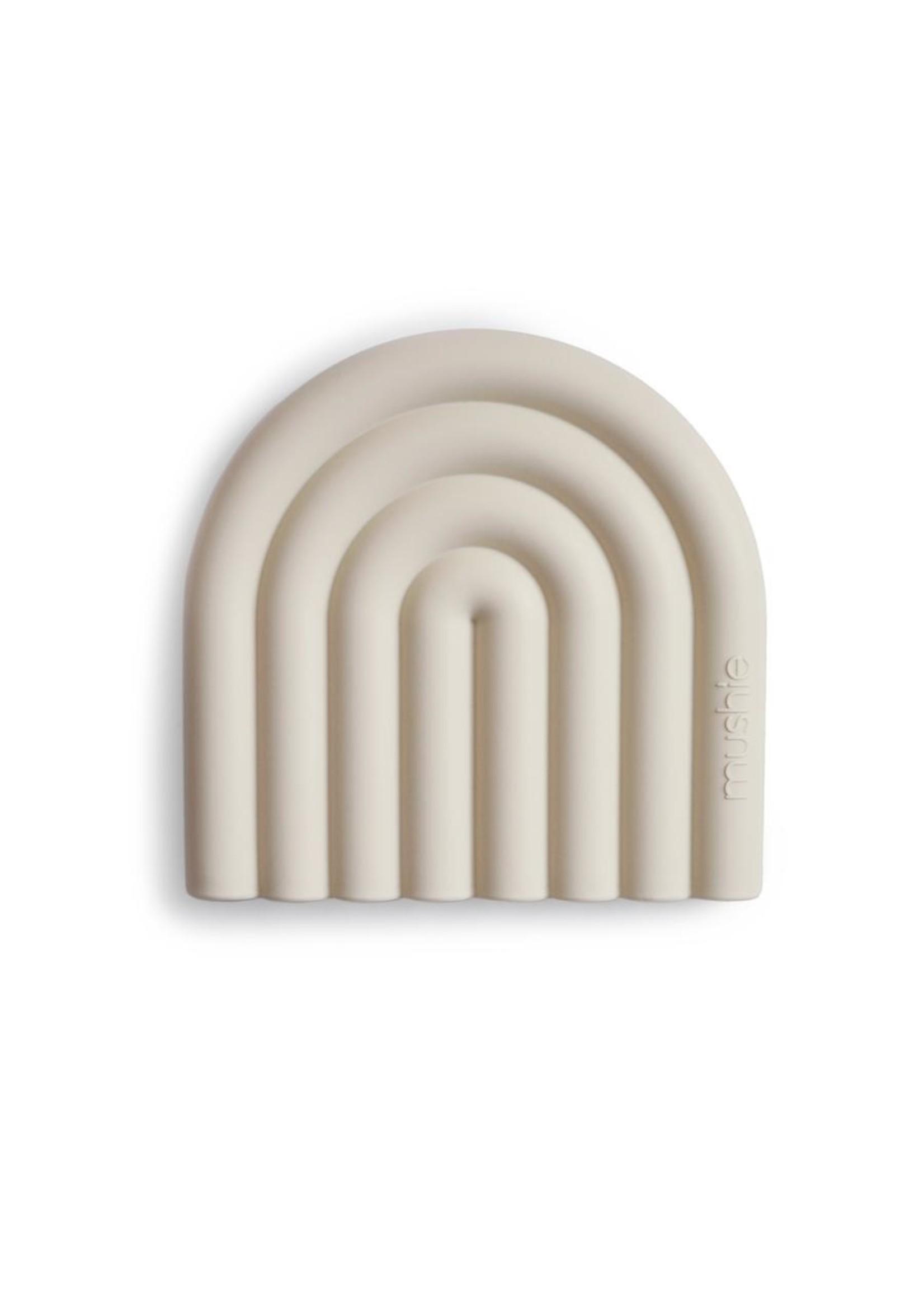 Mushie Arc en ciel de dentition Sand