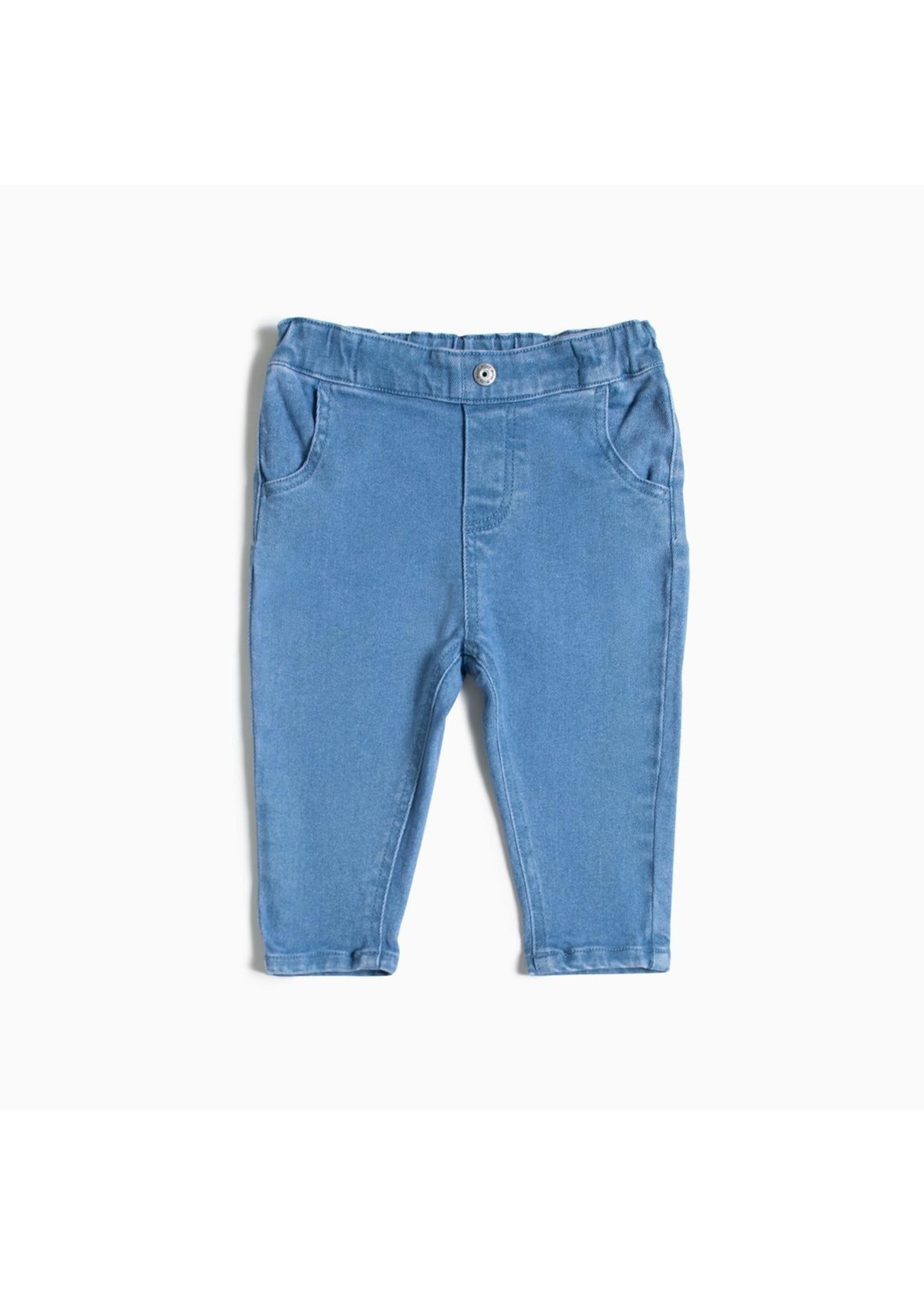 Miles Pantalon bleu clair en éco-denim