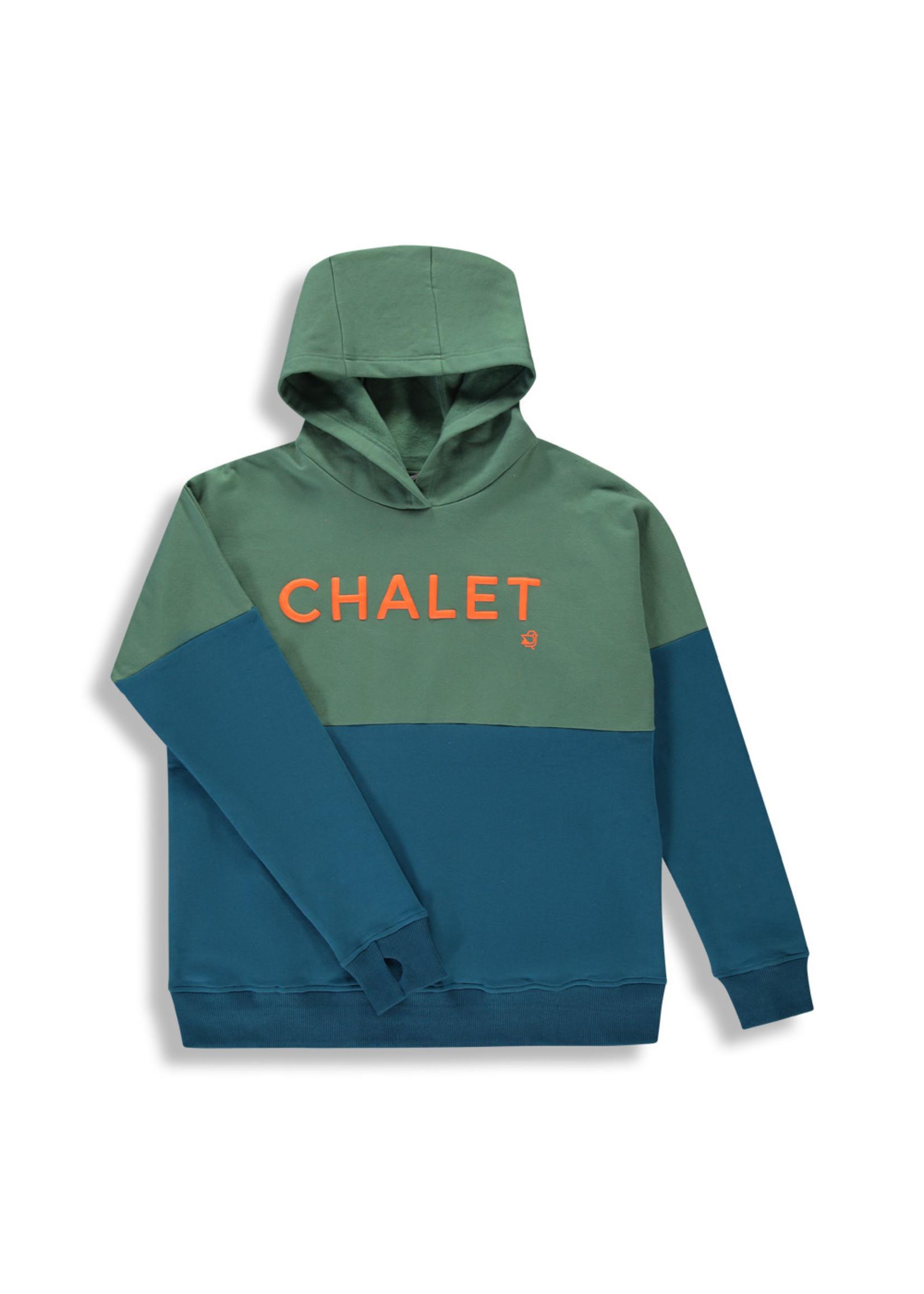 Birdz Chalet Hoodie Color-Block Blue