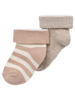 Noppies Chaussettes White Sand