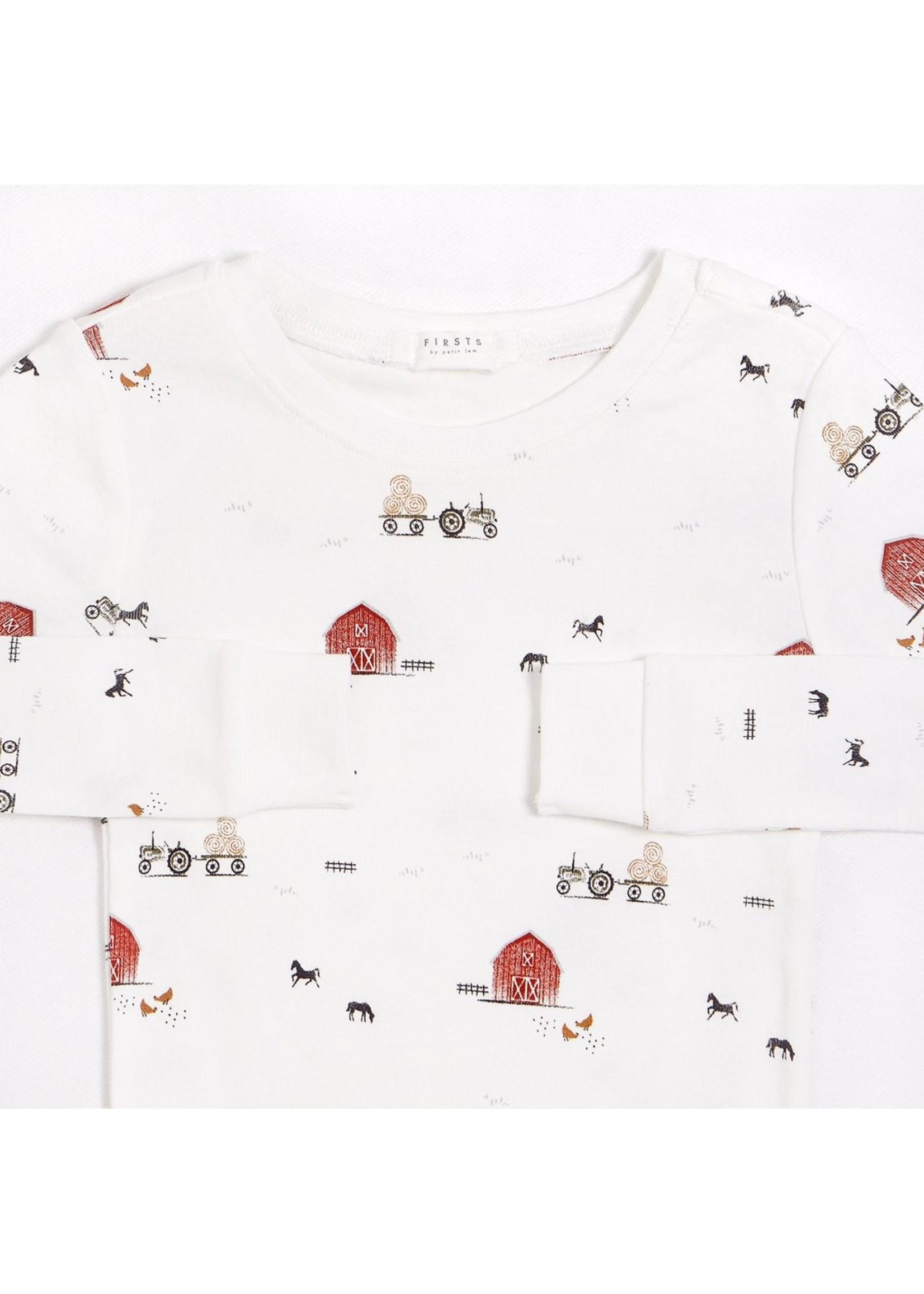 Petit Lem Pyjama 2 pièces Grange