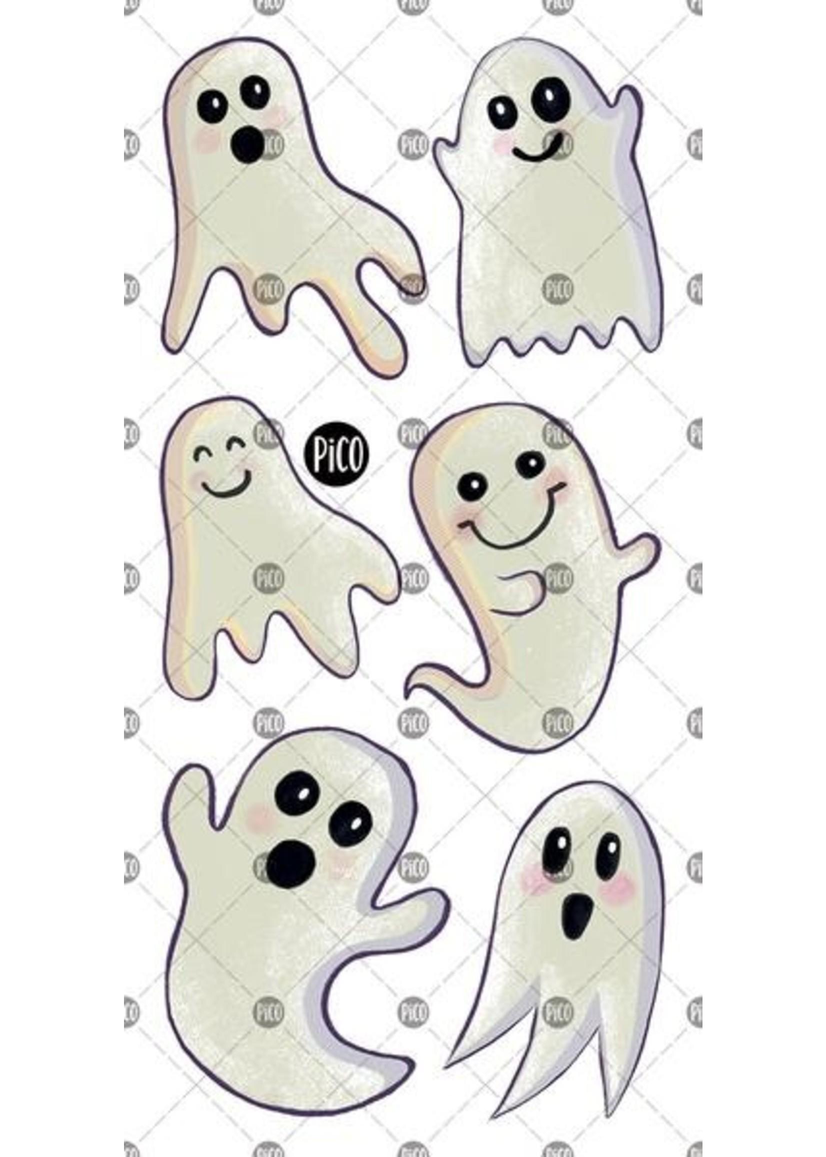 Pico Tatouage temporaire Surprenants Fantômes