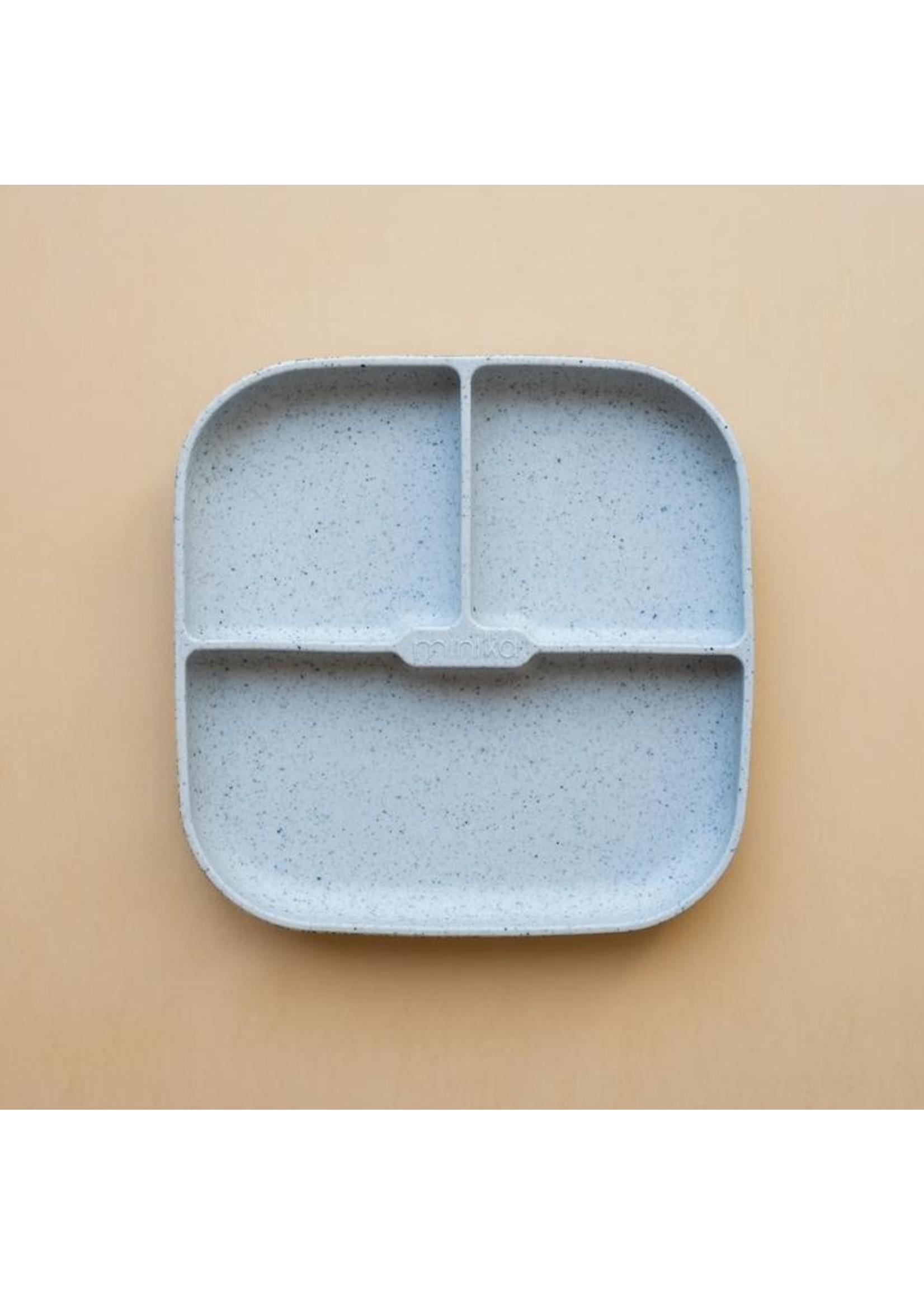 Minika Assiette de silicone Ice