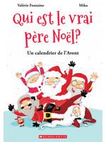 Scholastic Qui est le vrai Père Noël ? Un calendrier de l'avent