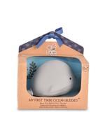 Tikiri Hochet naturel Ocean Buddies Baleine