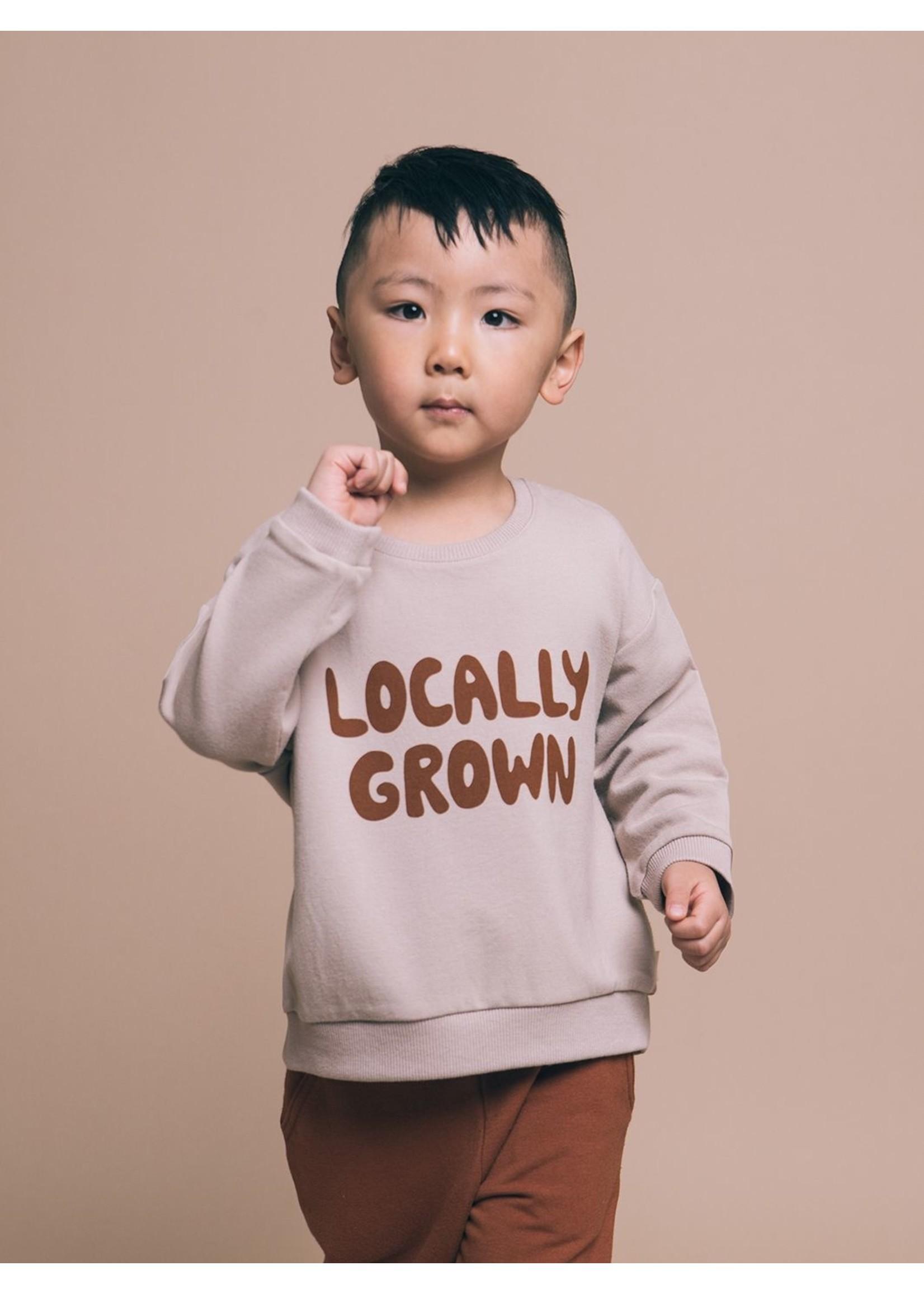 Greige Sweatshirt Locally grown