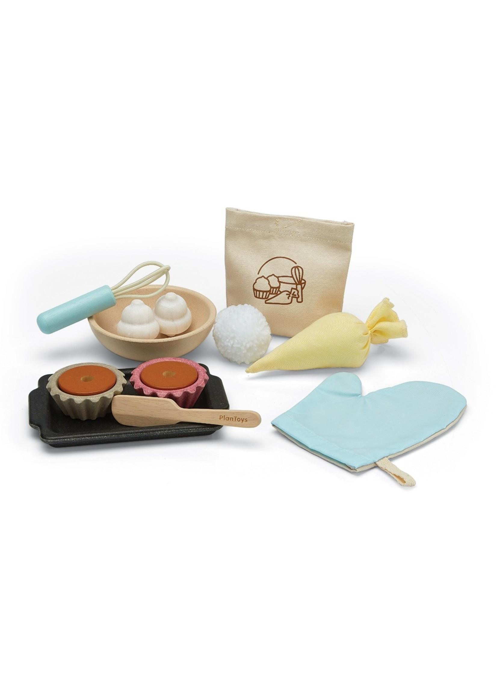 Plan Toys Ensemble de Cupcakes