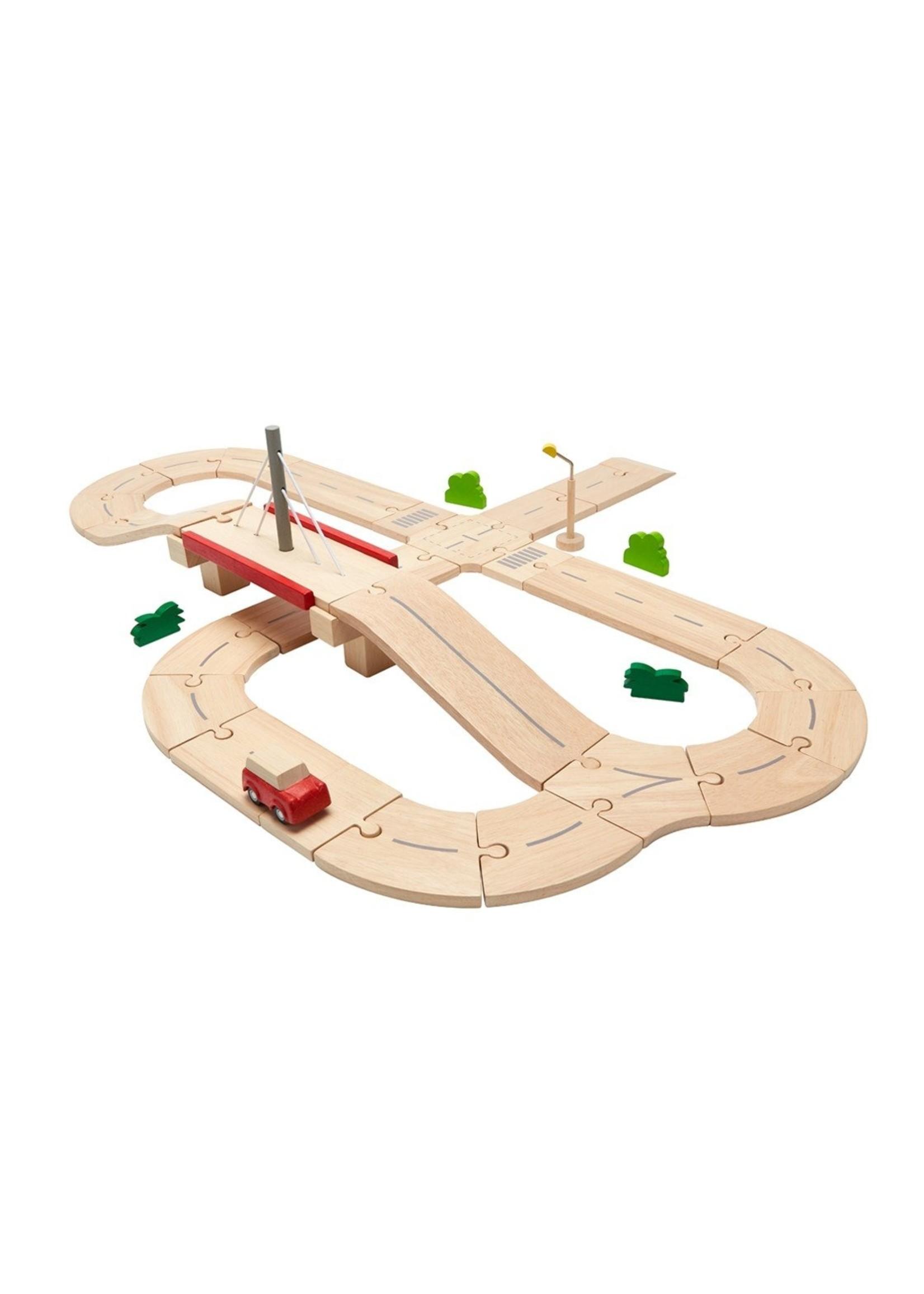 Plan Toys Système routier