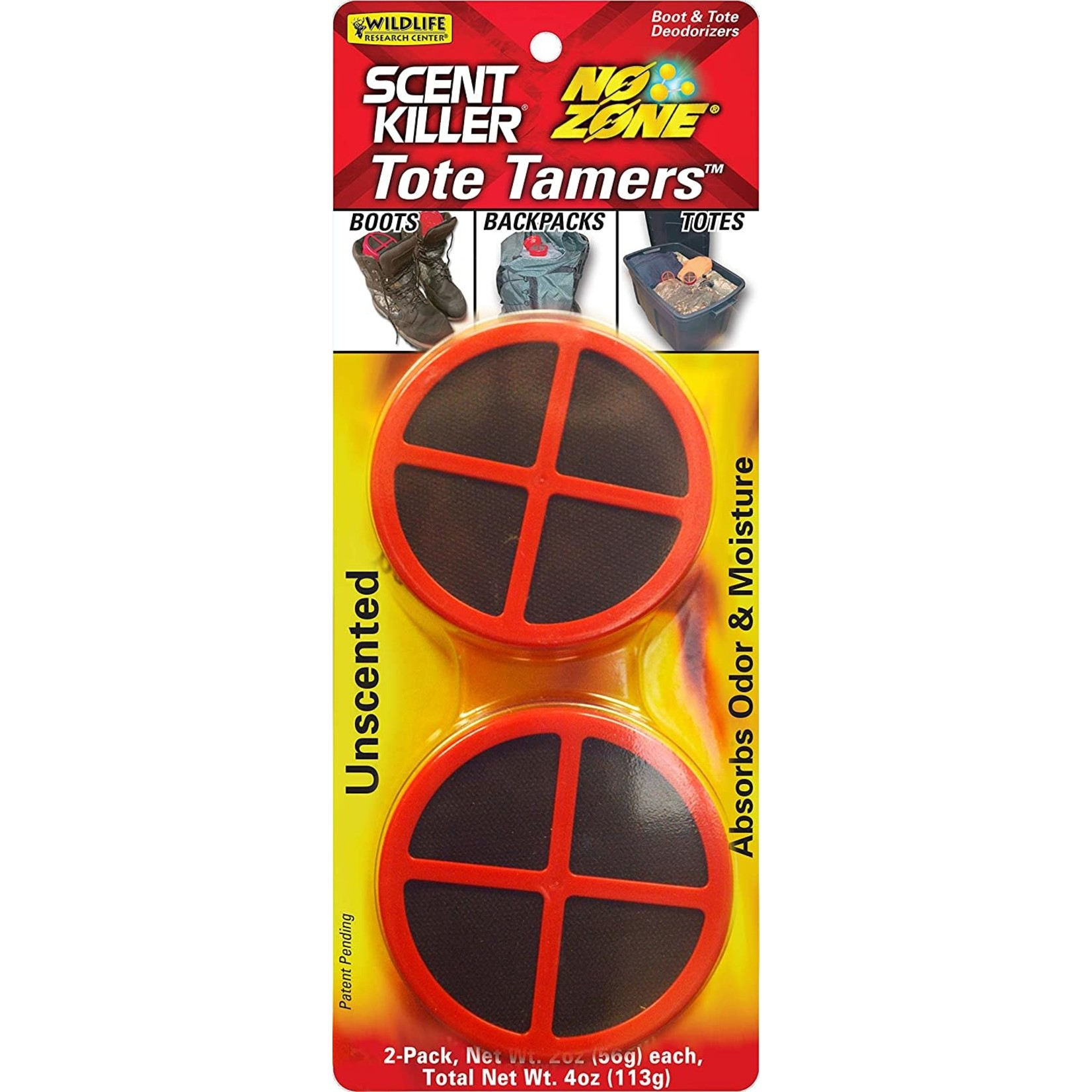 Wildlife Research Center Scent Killer No Zone Tote Tamer 2-Pack