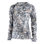 Sitka Chandail Pour Femme Core Mid Wt Crew - Ls -Optifade Elevated Ii - M