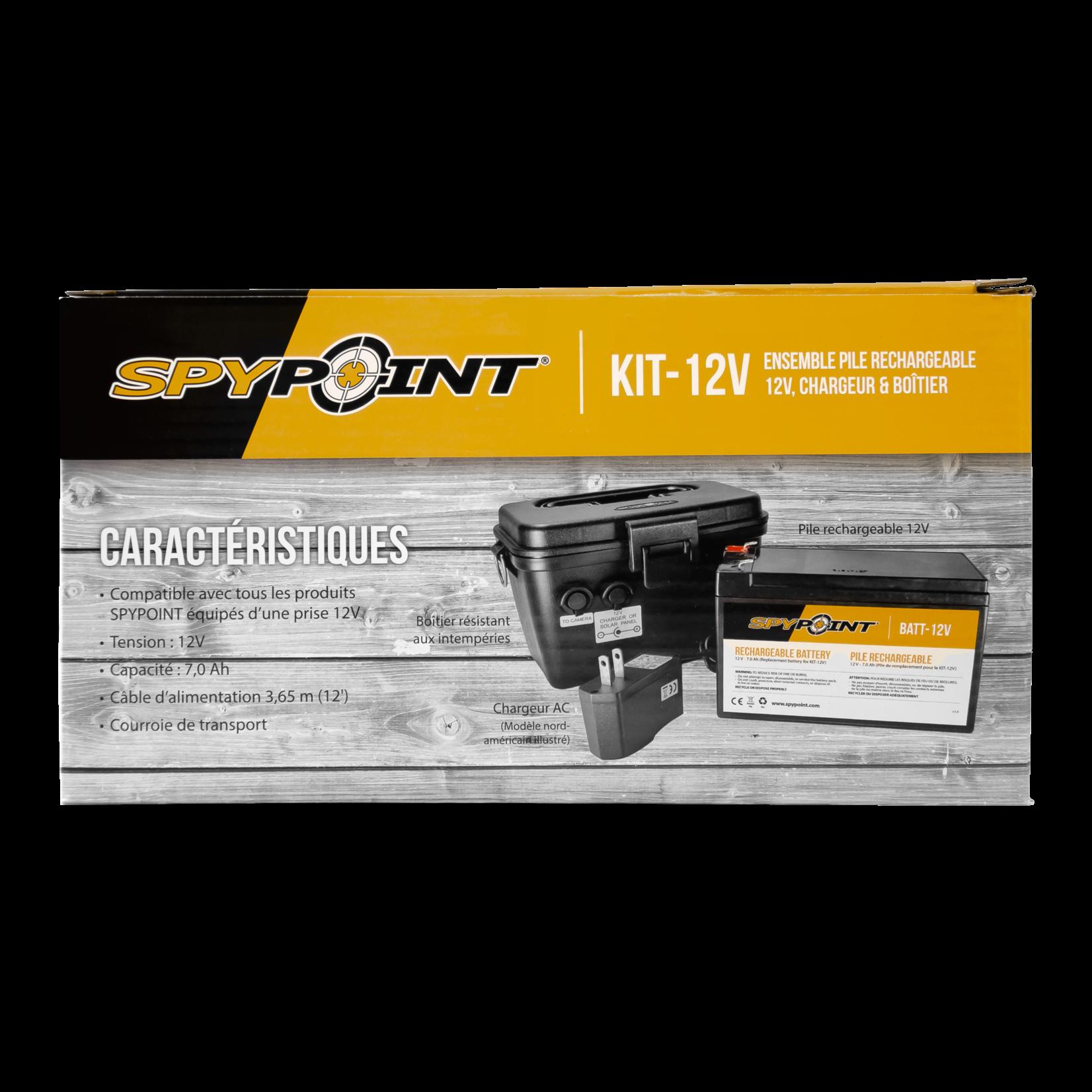 Spypoint 12V power supply kit