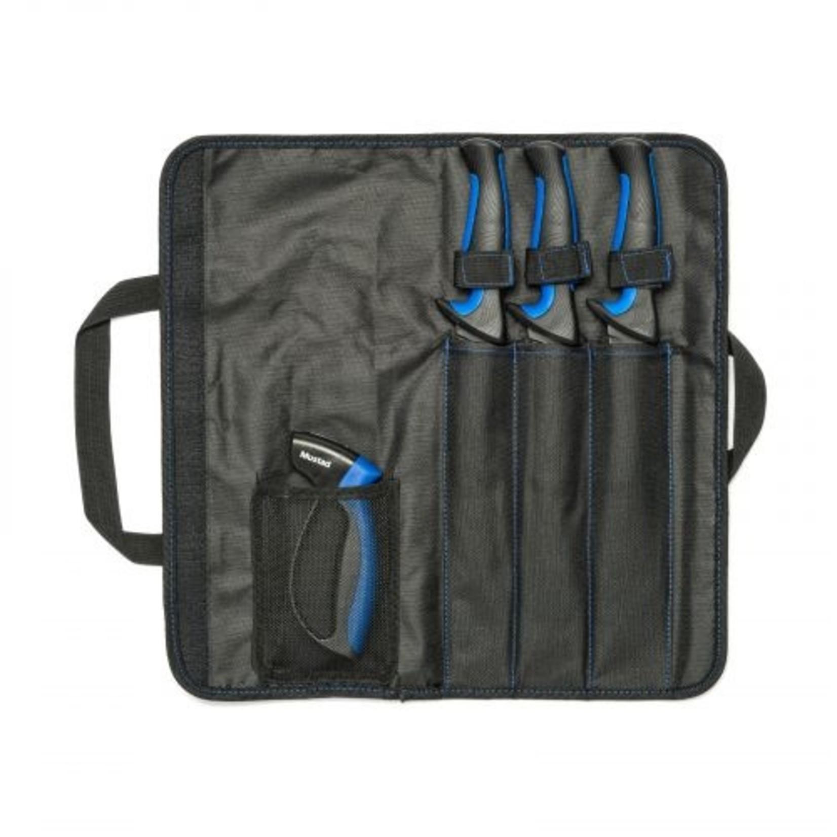 Mustad Mustad MT096 3-Piece Knife Kit With Sharpener