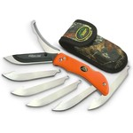 "Outdoor Edge 3.5"" RAZOR-PRO  (Orange, 6-Blades) – Clam"
