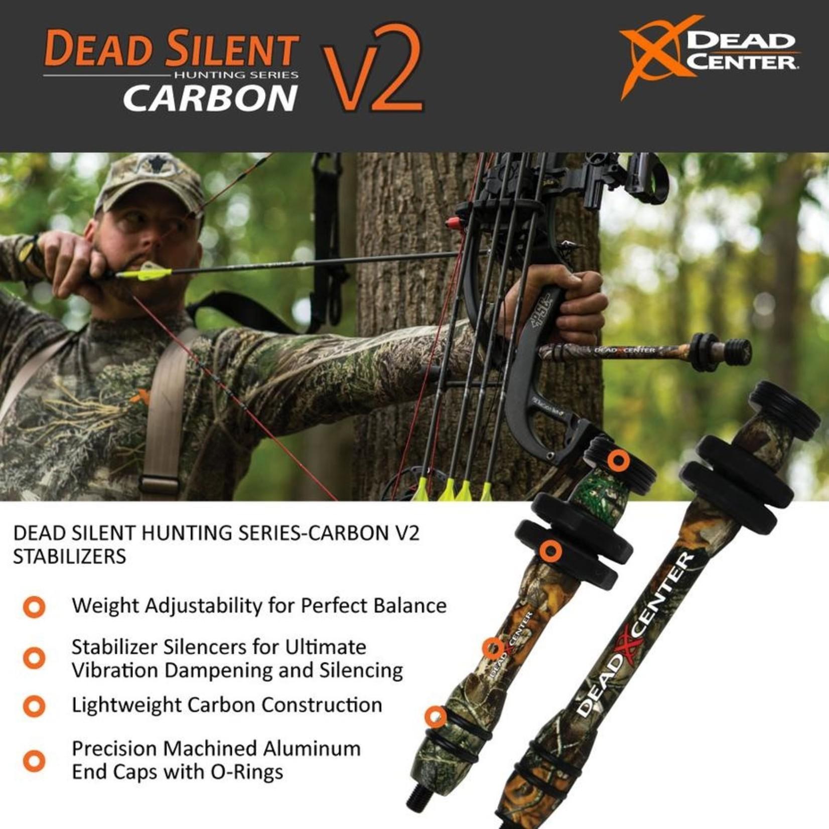 Dead Center Dead Silent  Hunting Series -  Carbon V2  10'' -  Green