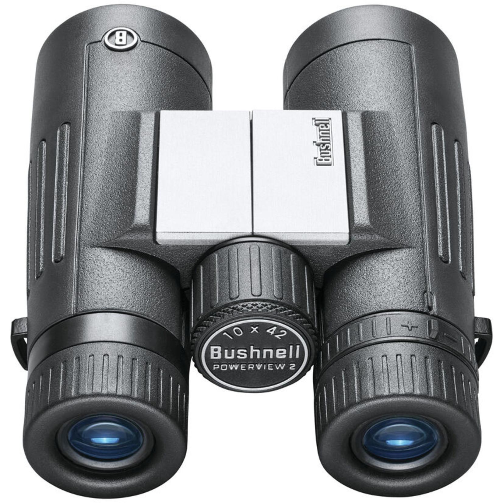 Bushnell 10x42 2.0 Aluminum MC, Metal Chass, Rubber Armor Binoculars