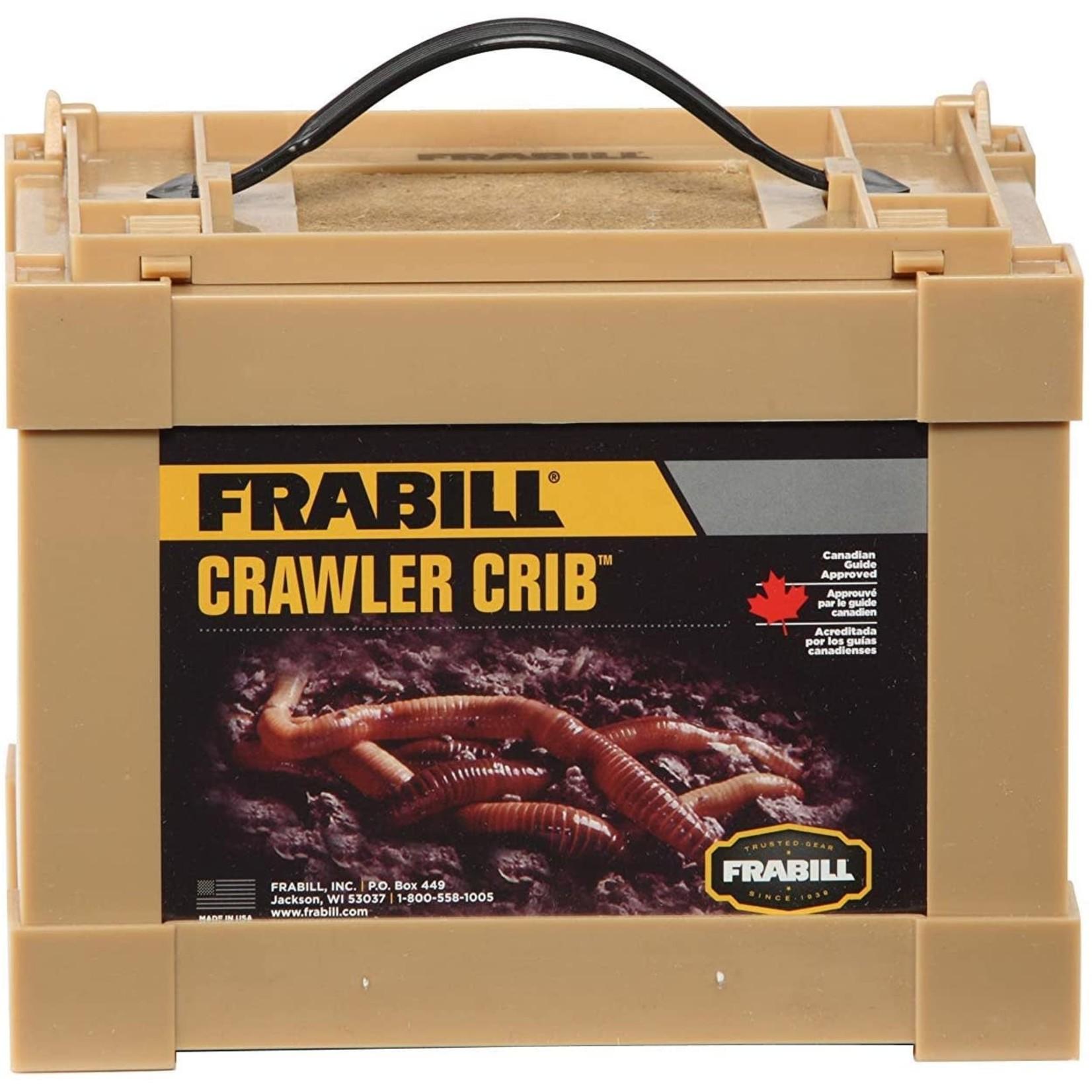 Frabill Boîte À Vers Crawler Cabin Petite