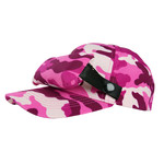 LittleFly Casquette Bug Cap - Camouflage Rose - Taille Unique