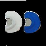 Recall Designs Diaphragme Et Booite Bleuet Blanc
