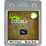 Cocall Male moose card