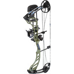 Quest CENTEC NXT BOW PACKAGE RH 25/45 20 - 26 ARMY GREEN / BLACK